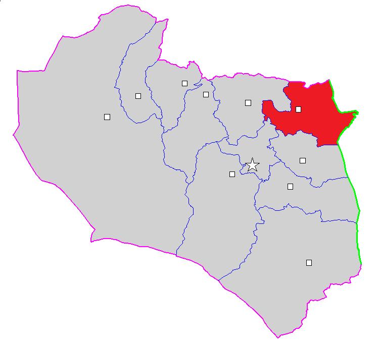 شهرستان زیرکوه