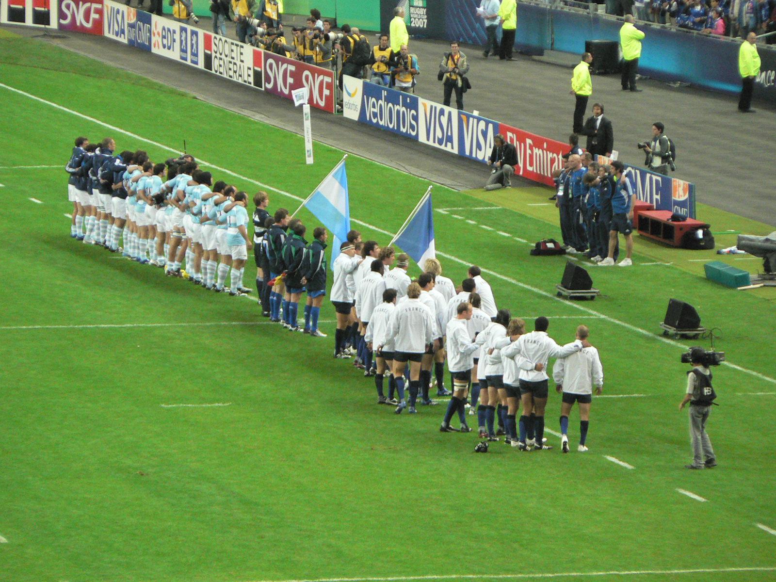 TF1: plus de 4 millions de téléspectateurs pour le match de rugby France/Argentine