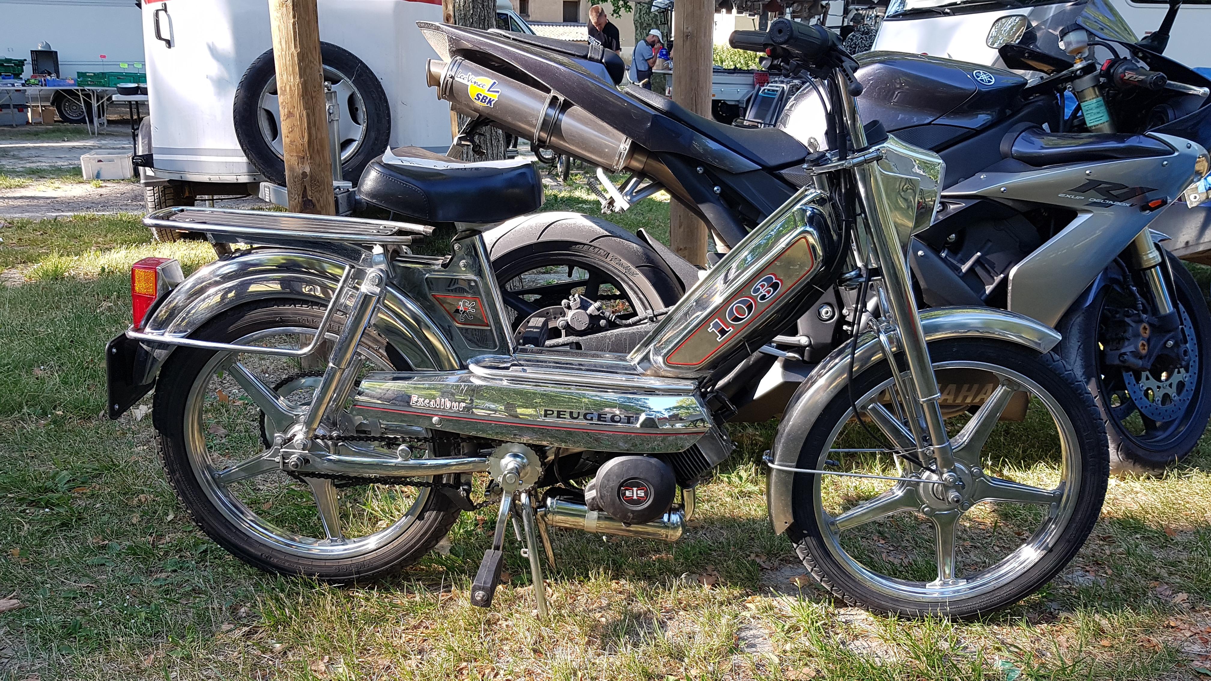 D/écompresseur complet soupape ressort cyclo mobylette Peugeot 103 MVL Neuf mob