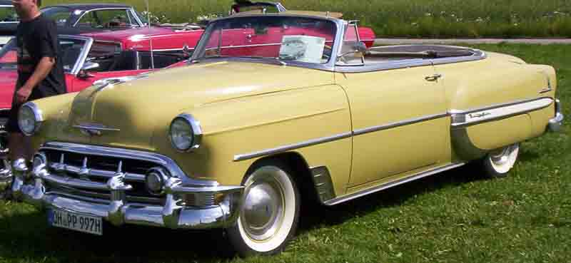 Cadillac Bel Air >> File:1953 Chevrolet Convertible.jpg - Wikimedia Commons