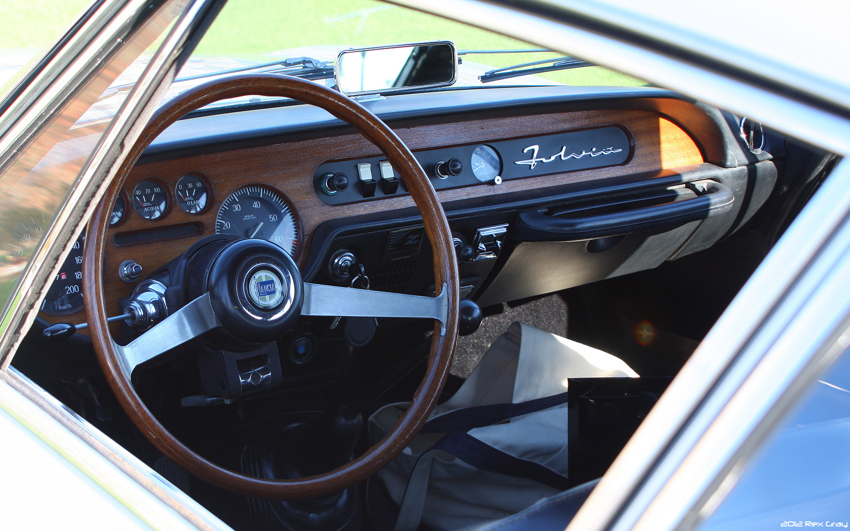 File 1970 Lancia Fulvia Sport Zagato Int Jpg Wikimedia