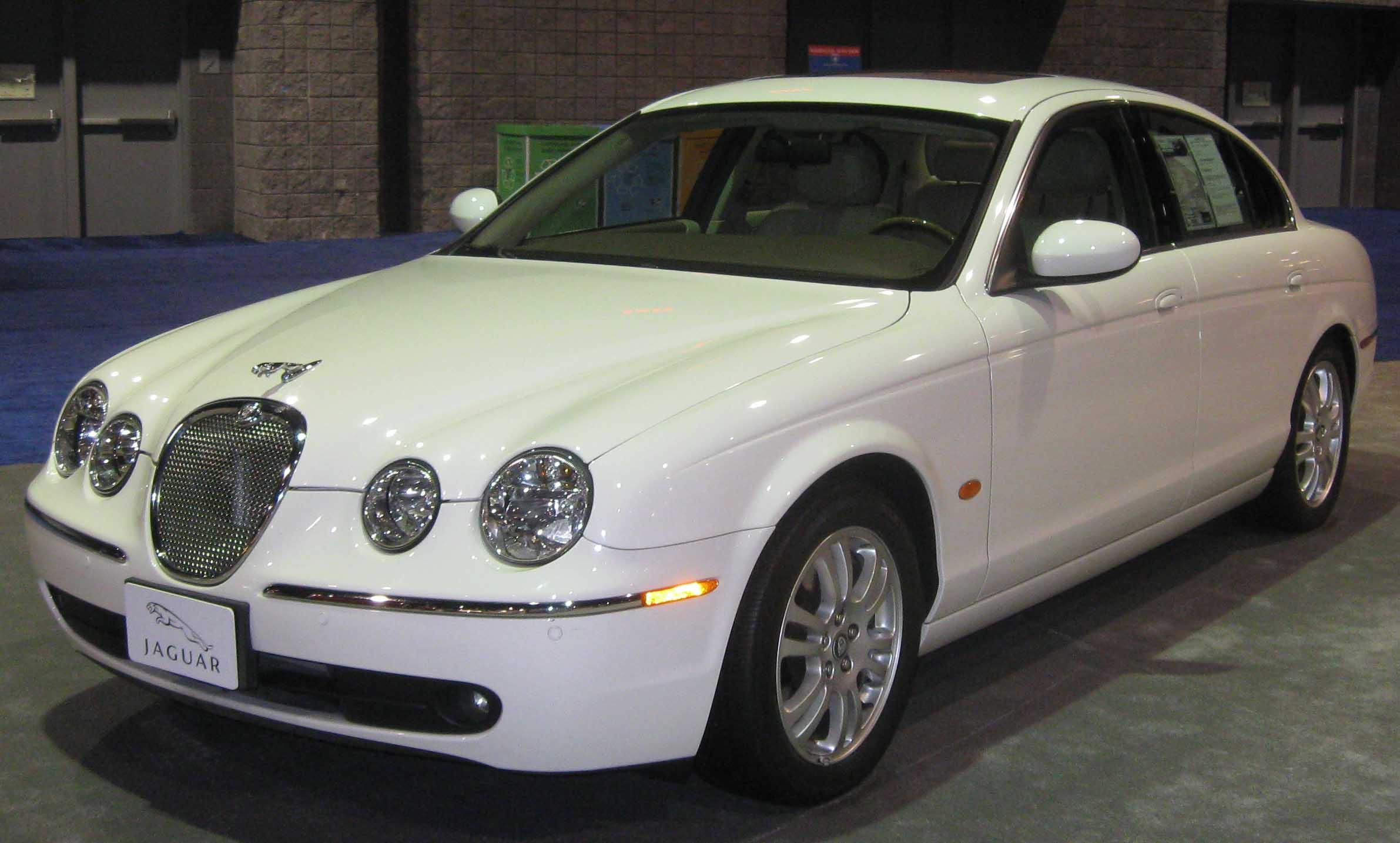 File 2006 Jaguar S Type 3 0 Dc Jpg Wikimedia Commons