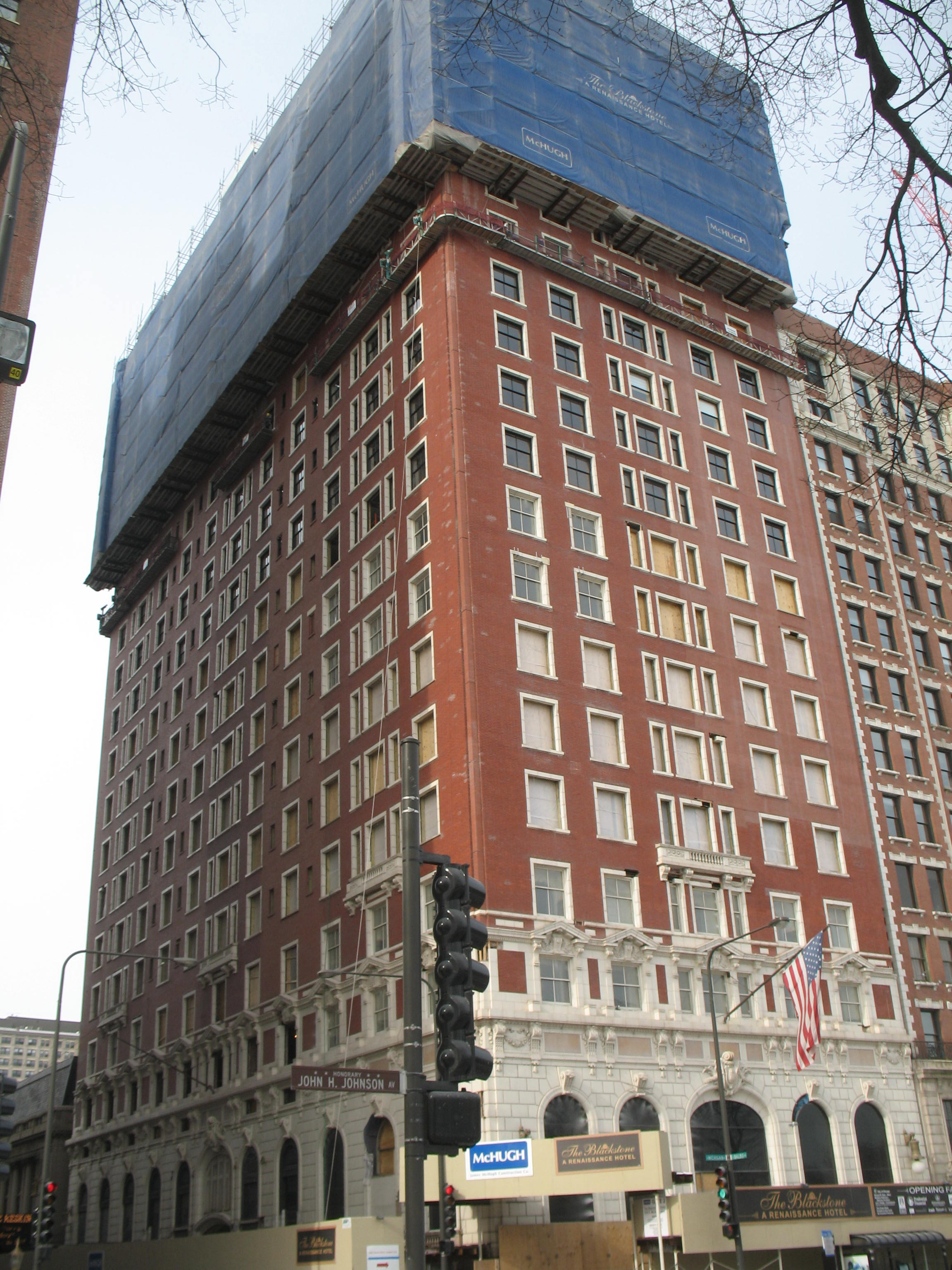 The Blackstone Hotel Chicago History