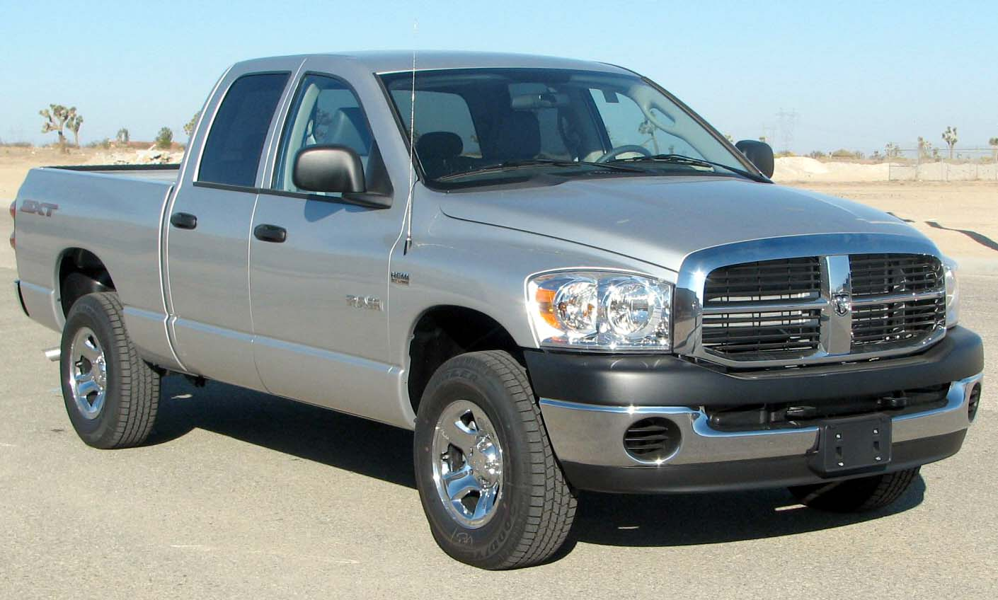 File 2008 Dodge Ram 1500 Sxt 4 Door Pickup Nhtsa 01