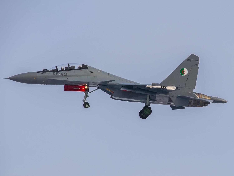 Sukhoi Su-30MK da Força Aérea Argelina