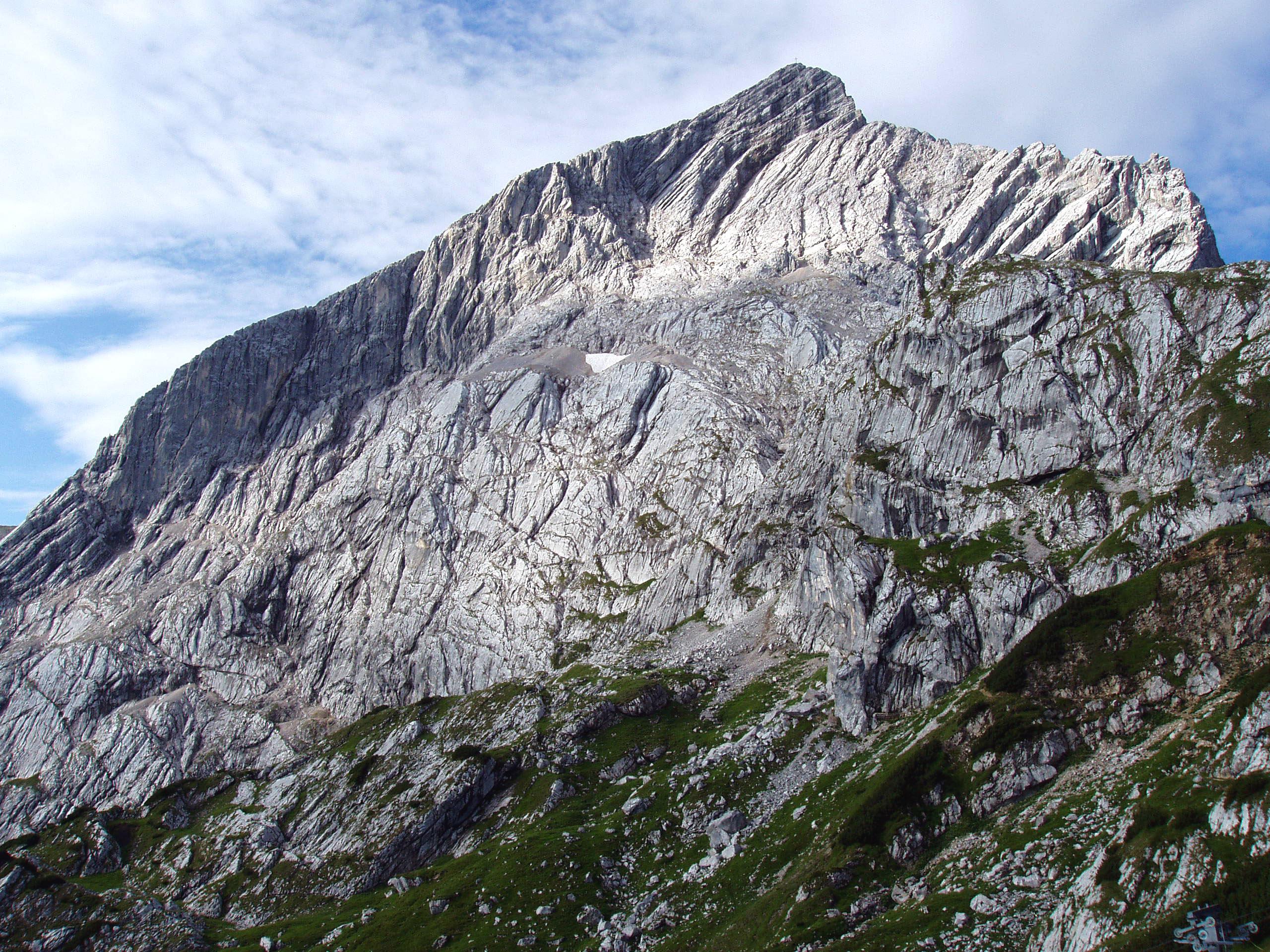 Klettersteig Alpspitze : Alpspitze u wikipedia