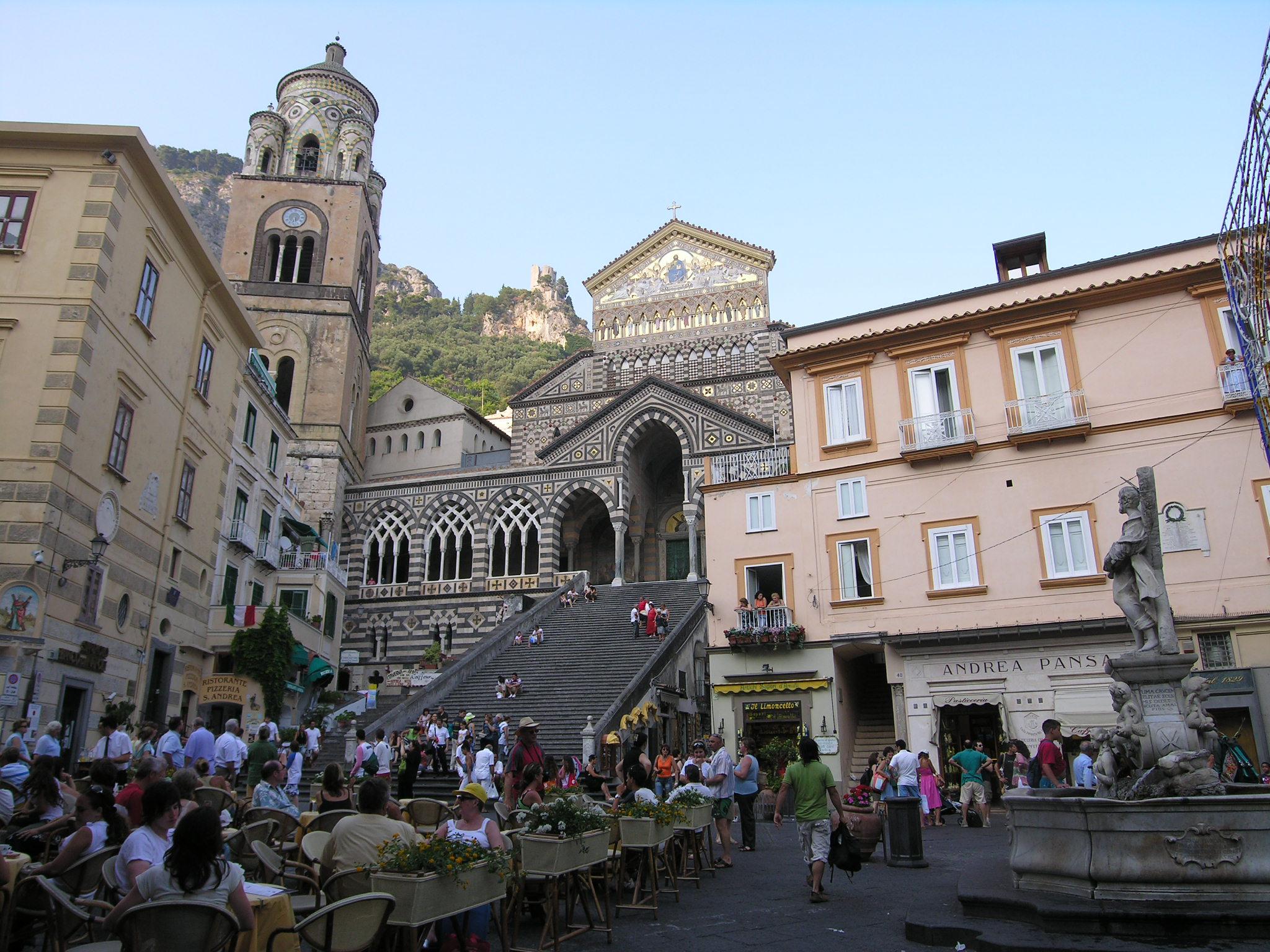 Amalfi coast capri italy for Italia amalfi