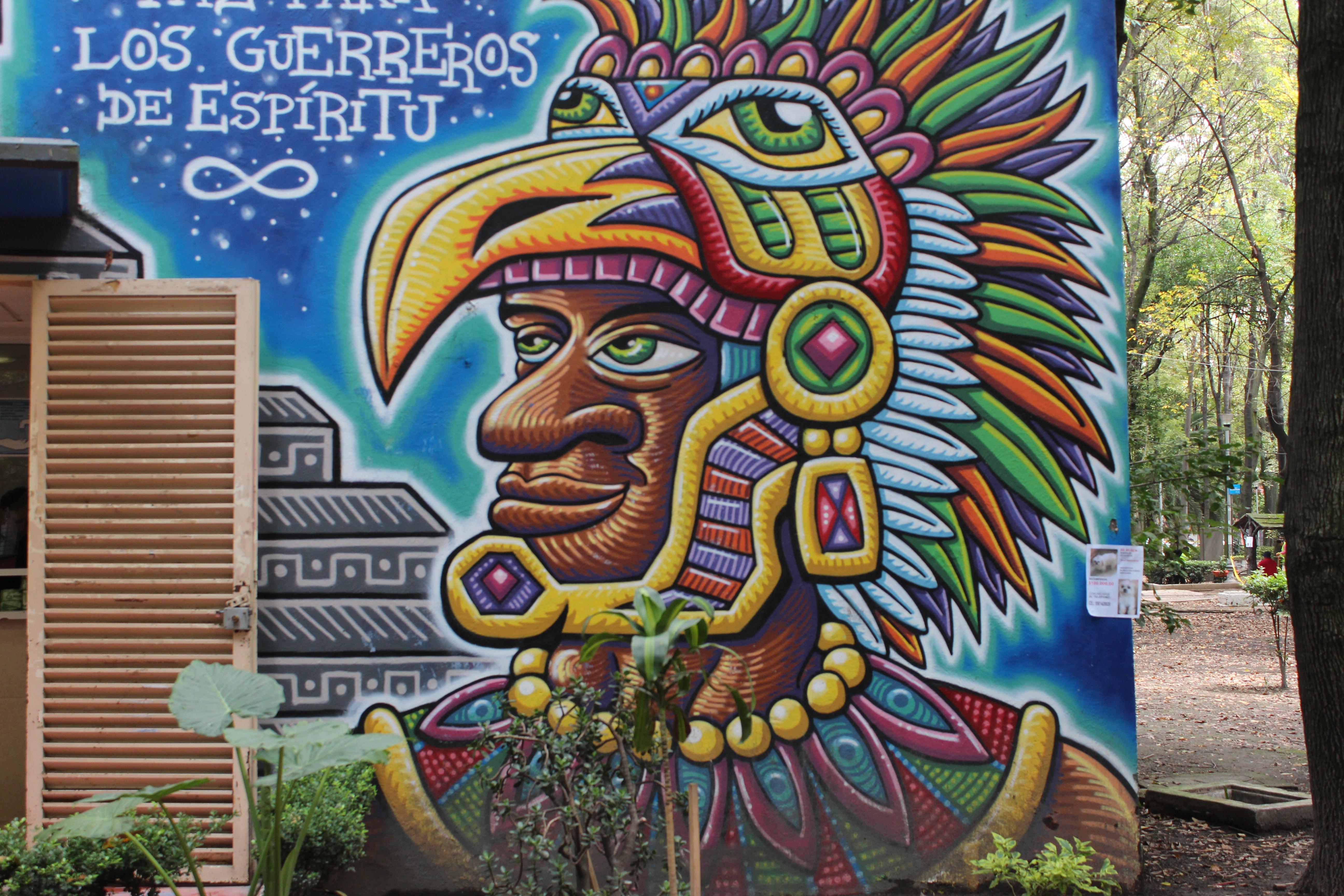 Murales Aztecas