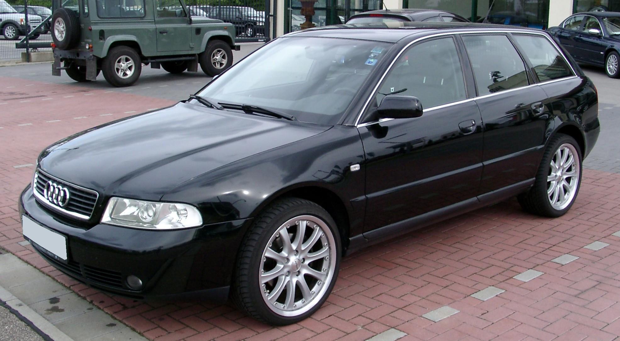 File Audi A4 B5 Avant Front 20080517 Jpg Wikimedia Commons