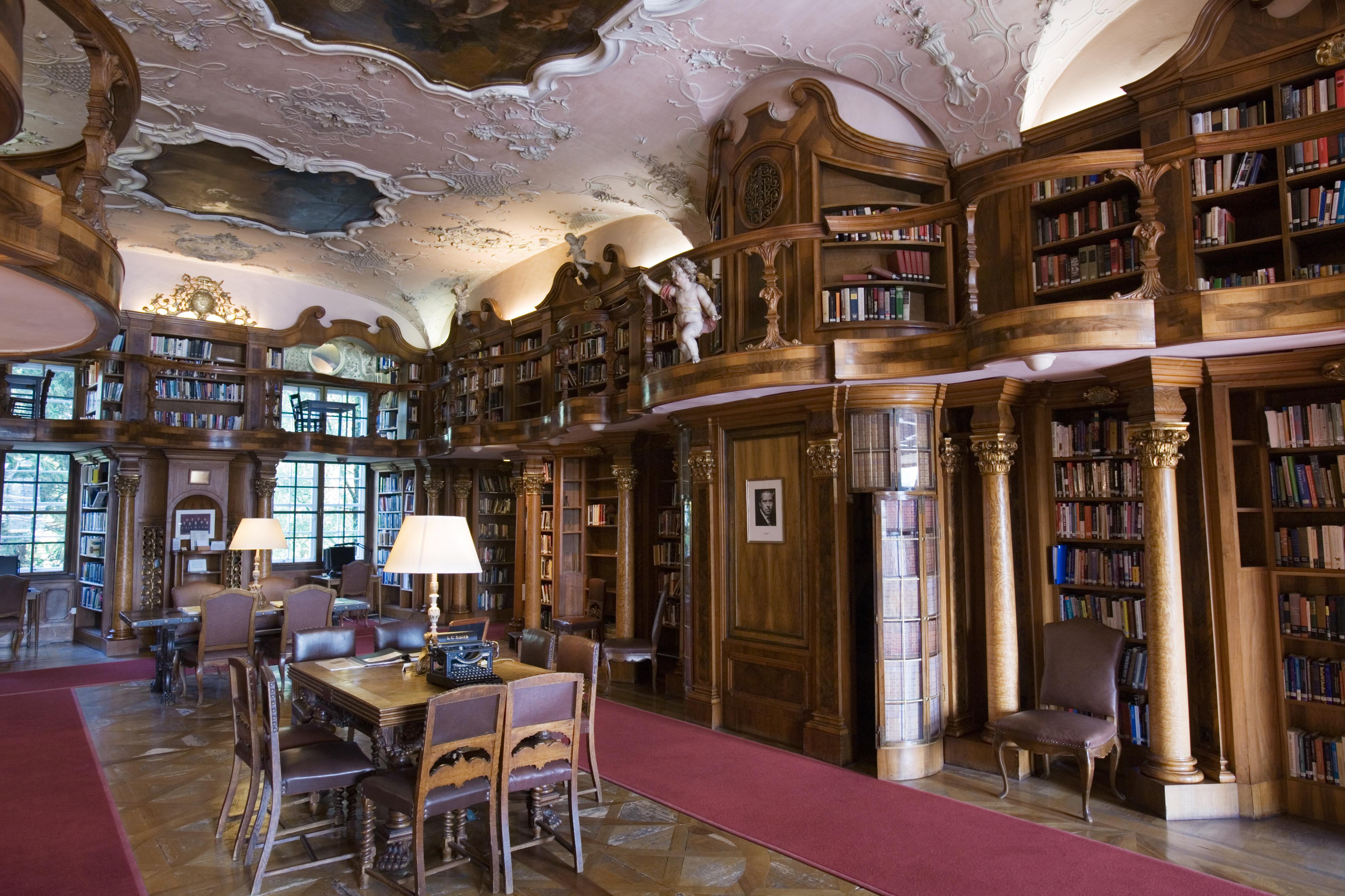 File:Austria - Schloss Leopoldskron Library - 2706.jpg