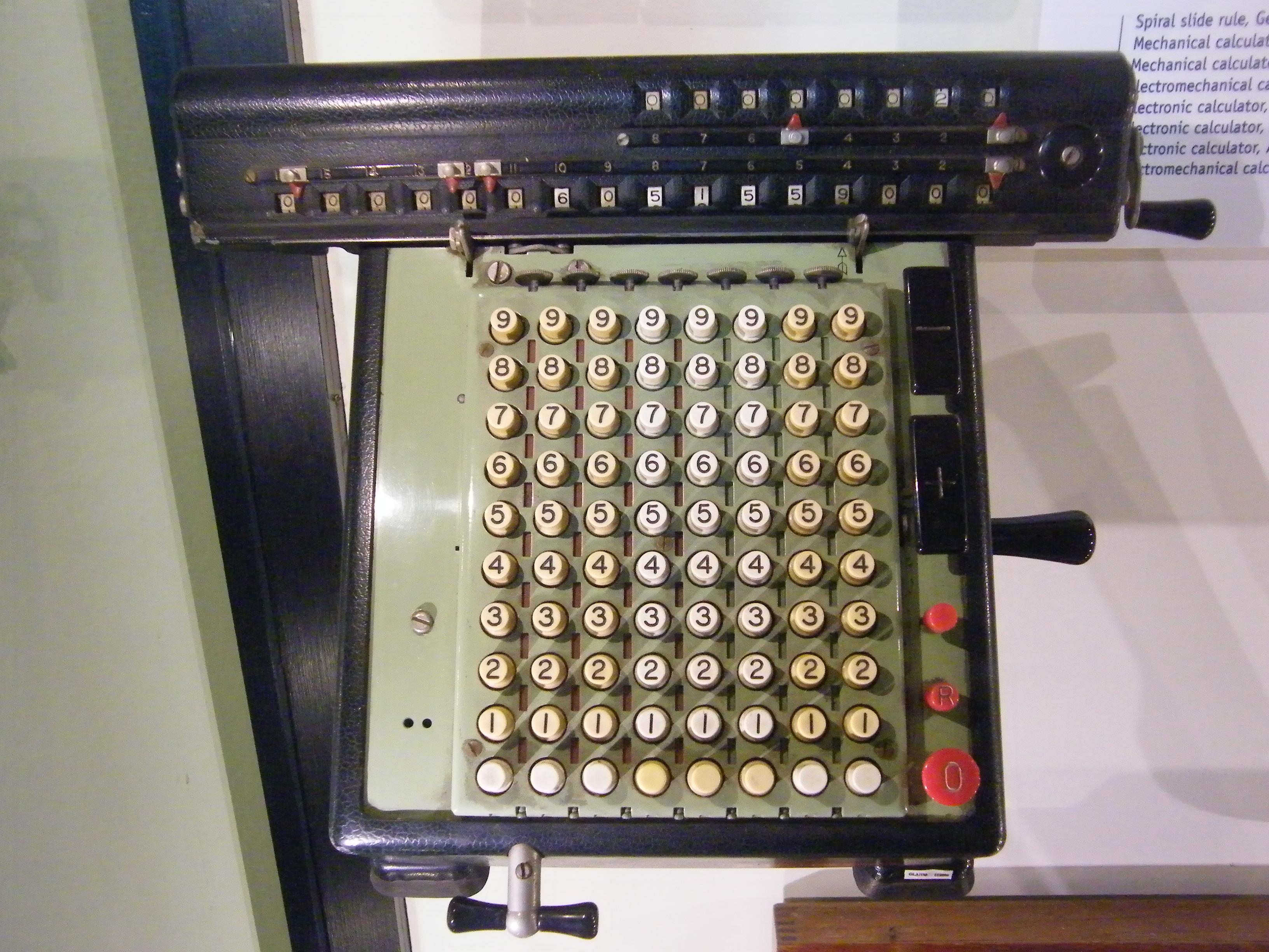 File Blw Mechanical Calculator 1 Jpg Wikimedia Commons