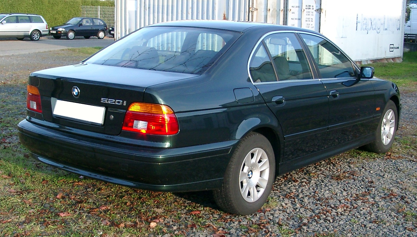 File:BMW E39 rear 20071022.jpg - Wikimedia Commons