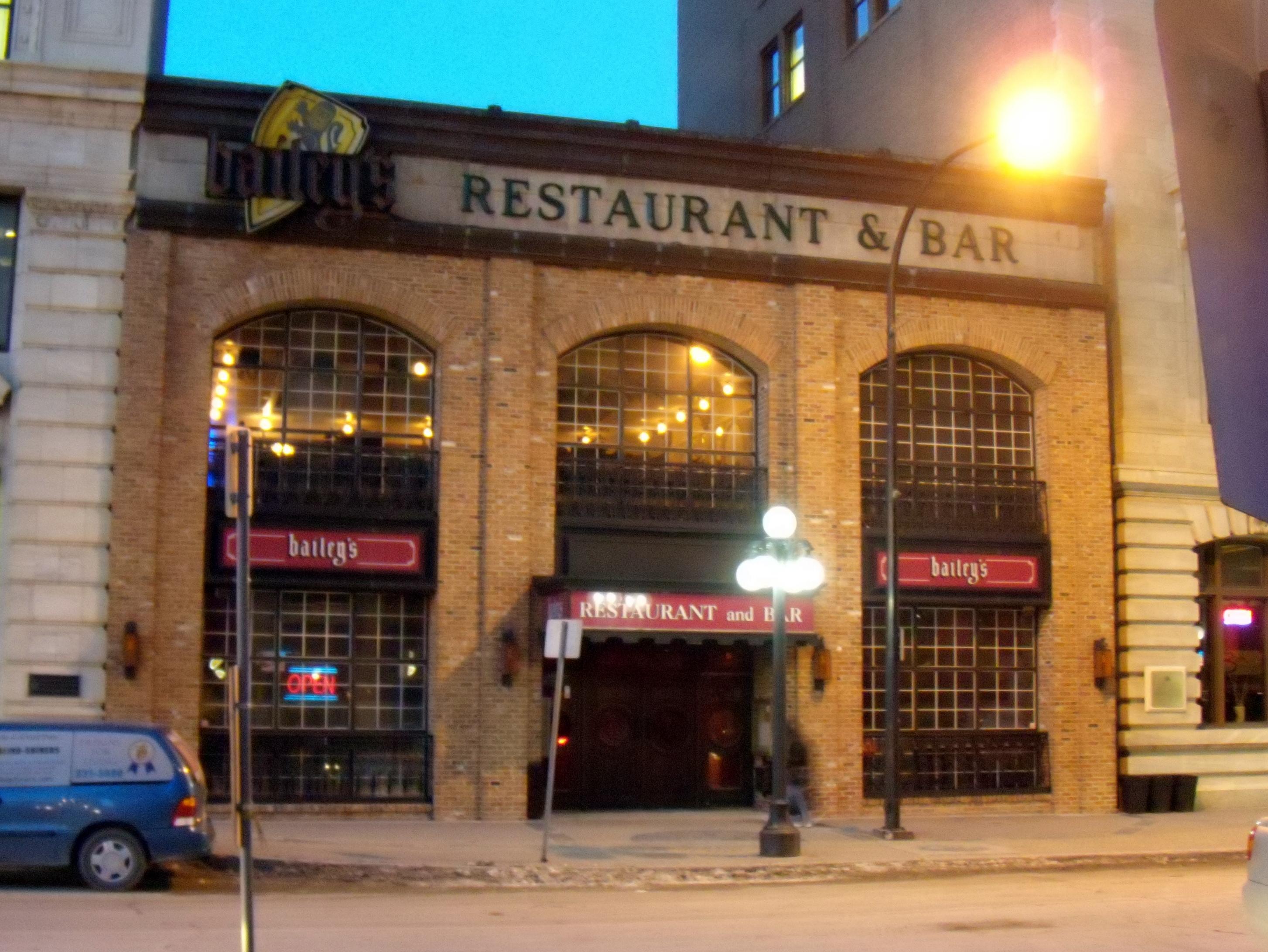 The Avenue Bar Restaurant Glasgow