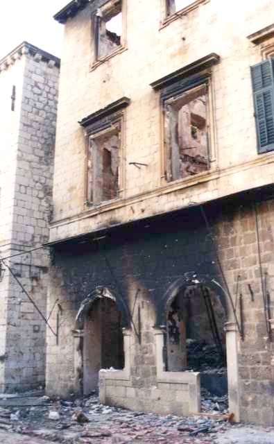Dubrovnik, December 1991 aftermath.