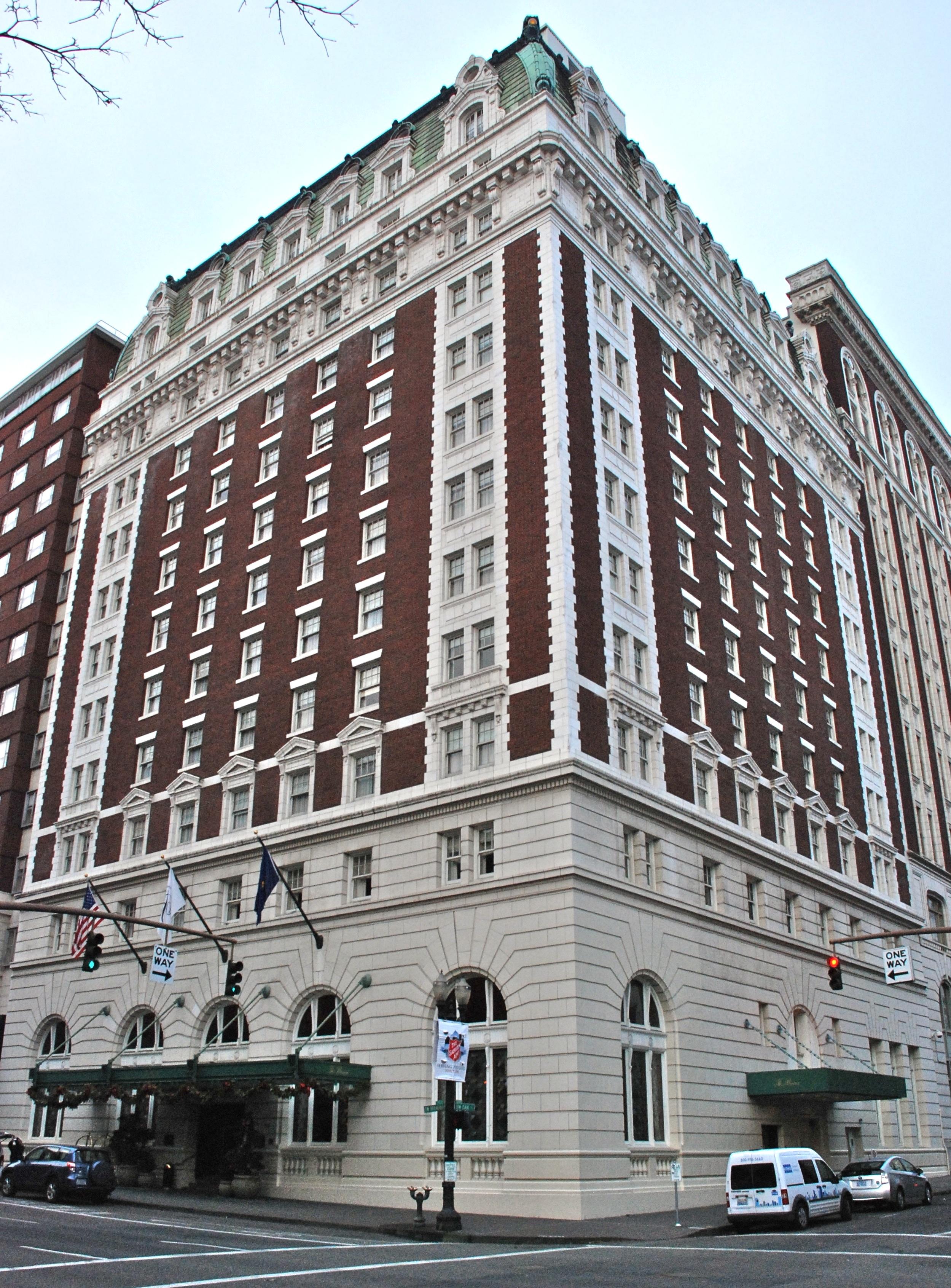 Benson Hotel Downtown Portland Oregon