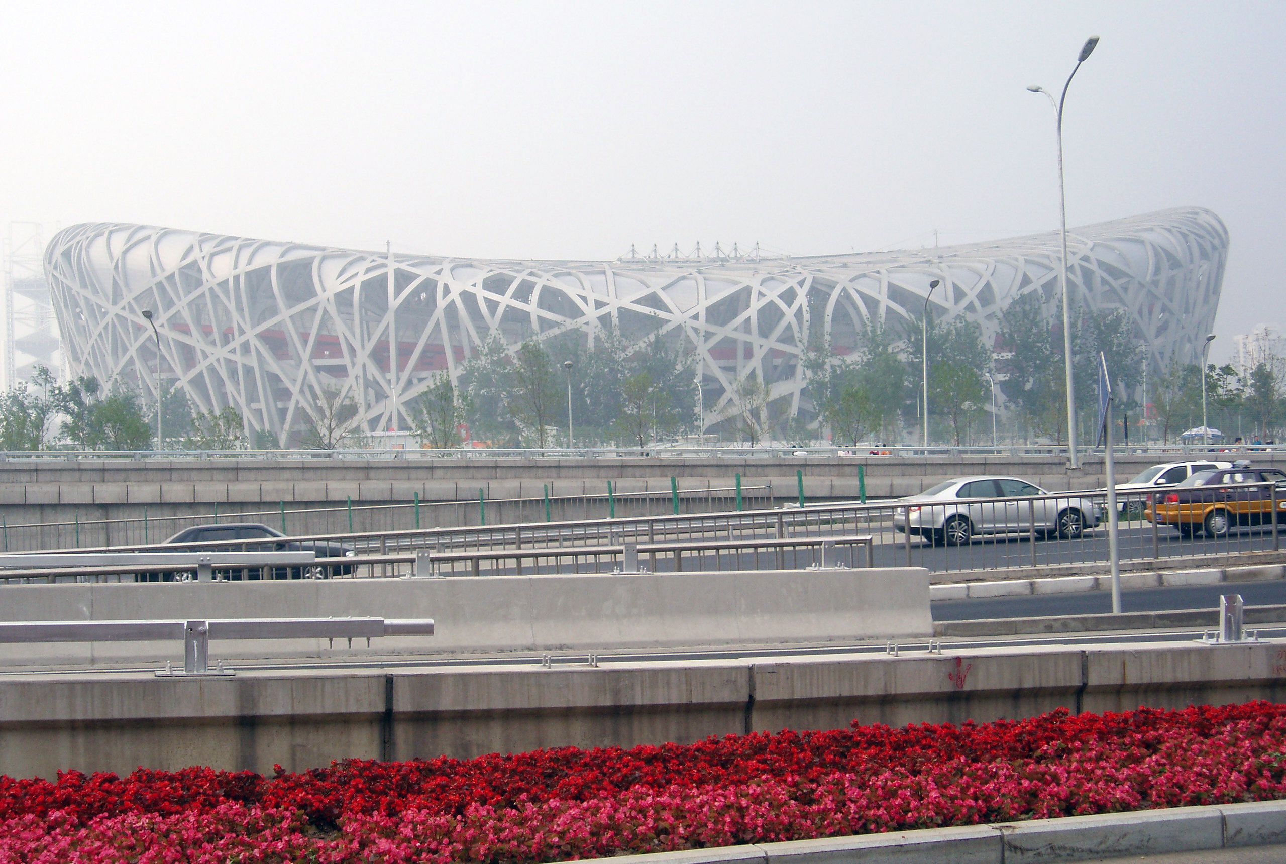 File bird 39 s nest beijing national wikimedia for The bird s nest stadium