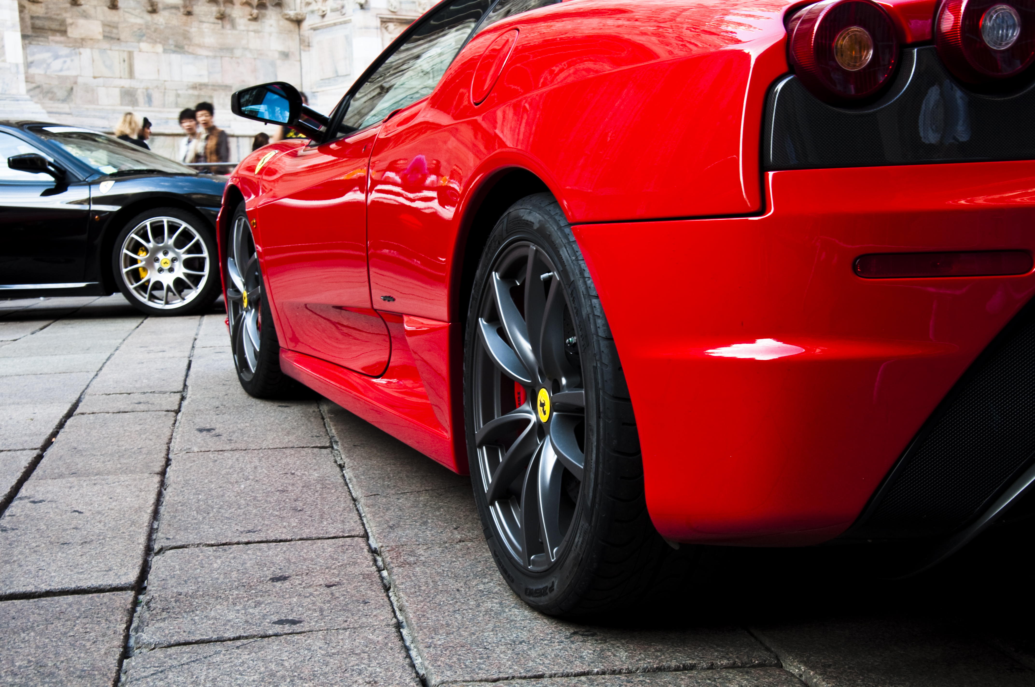 red and black ferrari - photo #25