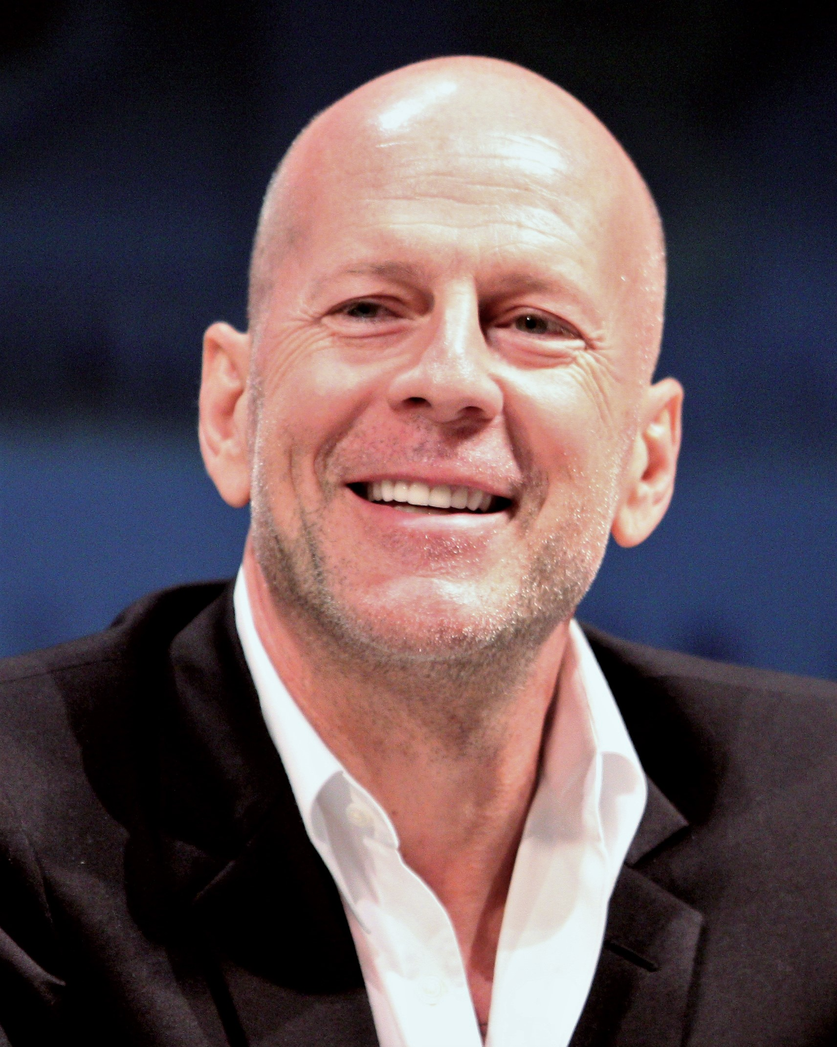 Depiction of Bruce Willis
