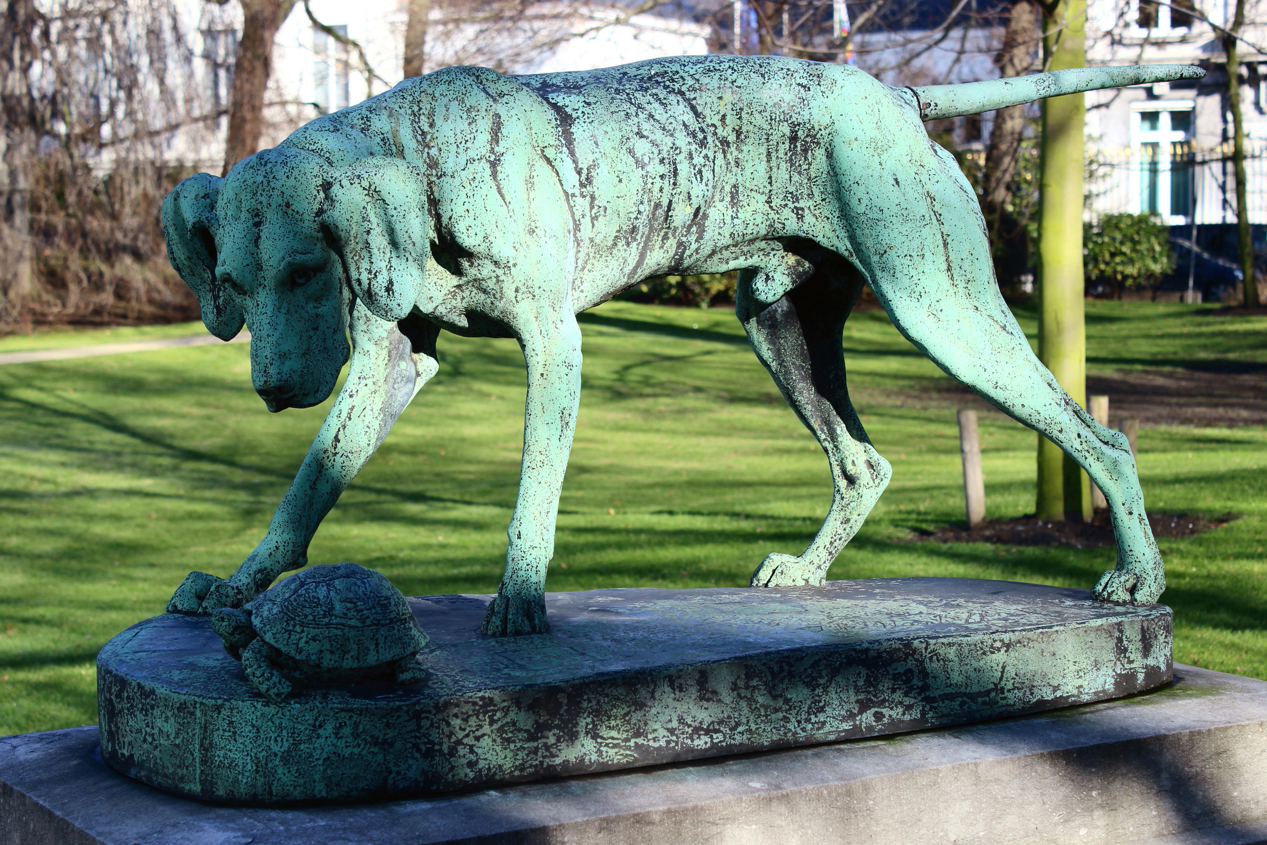 File bruxelles palais des acad mies wikimedia for Statue de jardin belgique