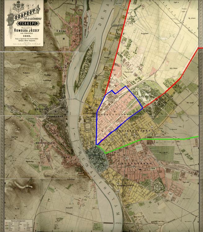 budapest térkép angyalföld Fájl:Budapest térképe, Homolka József. – Wikipédia budapest térkép angyalföld