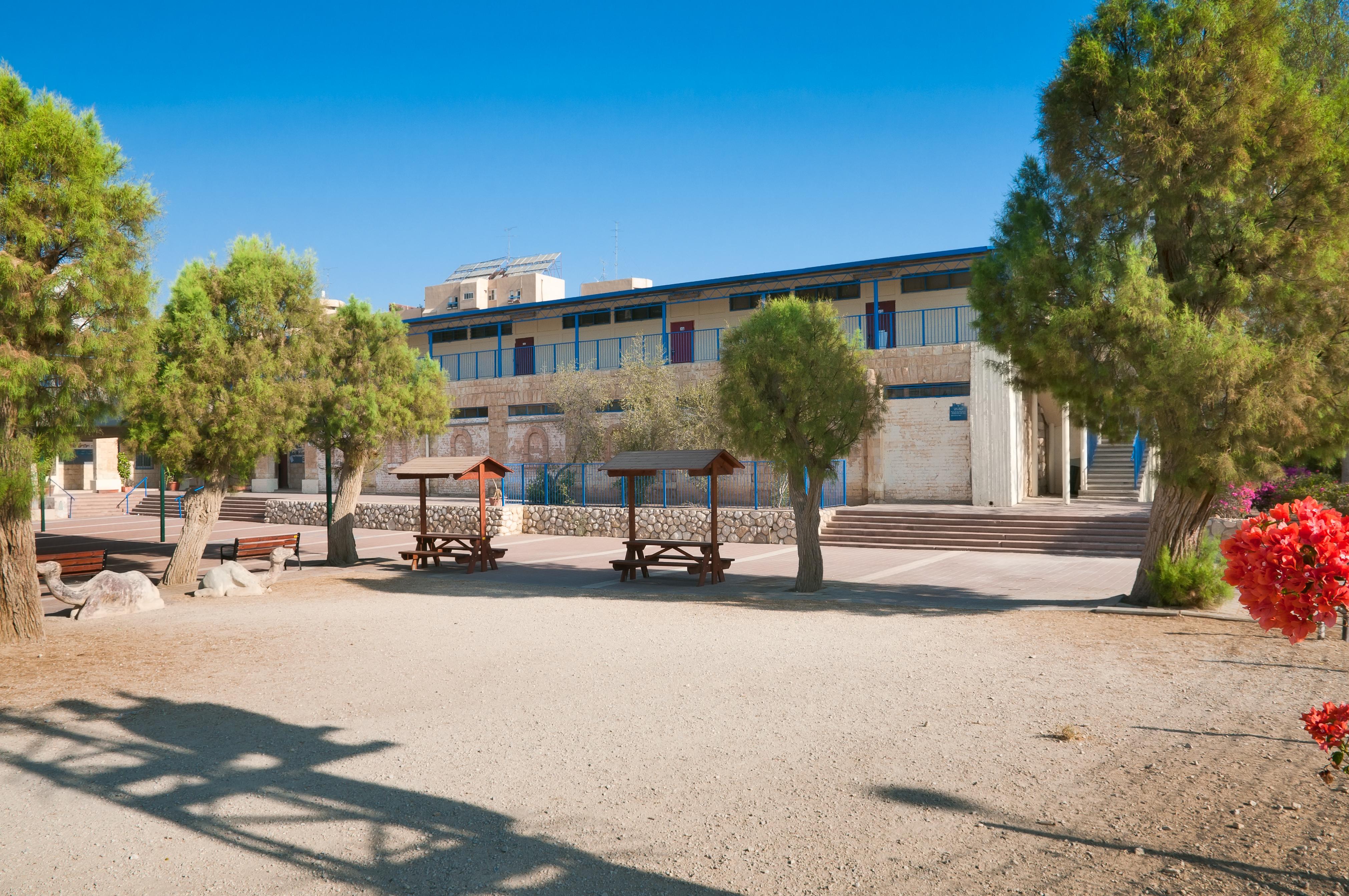 School for Bedouin sheikhs, in Beer-Sheva