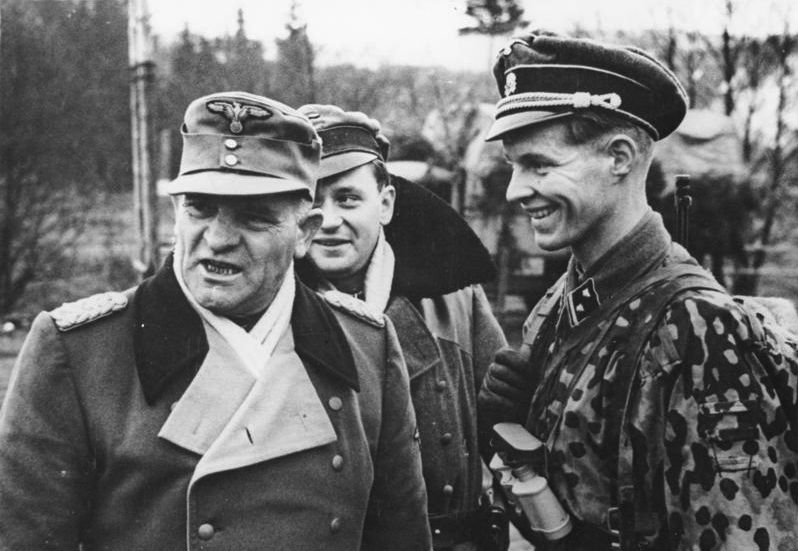 Dietrich on 19 January 1945