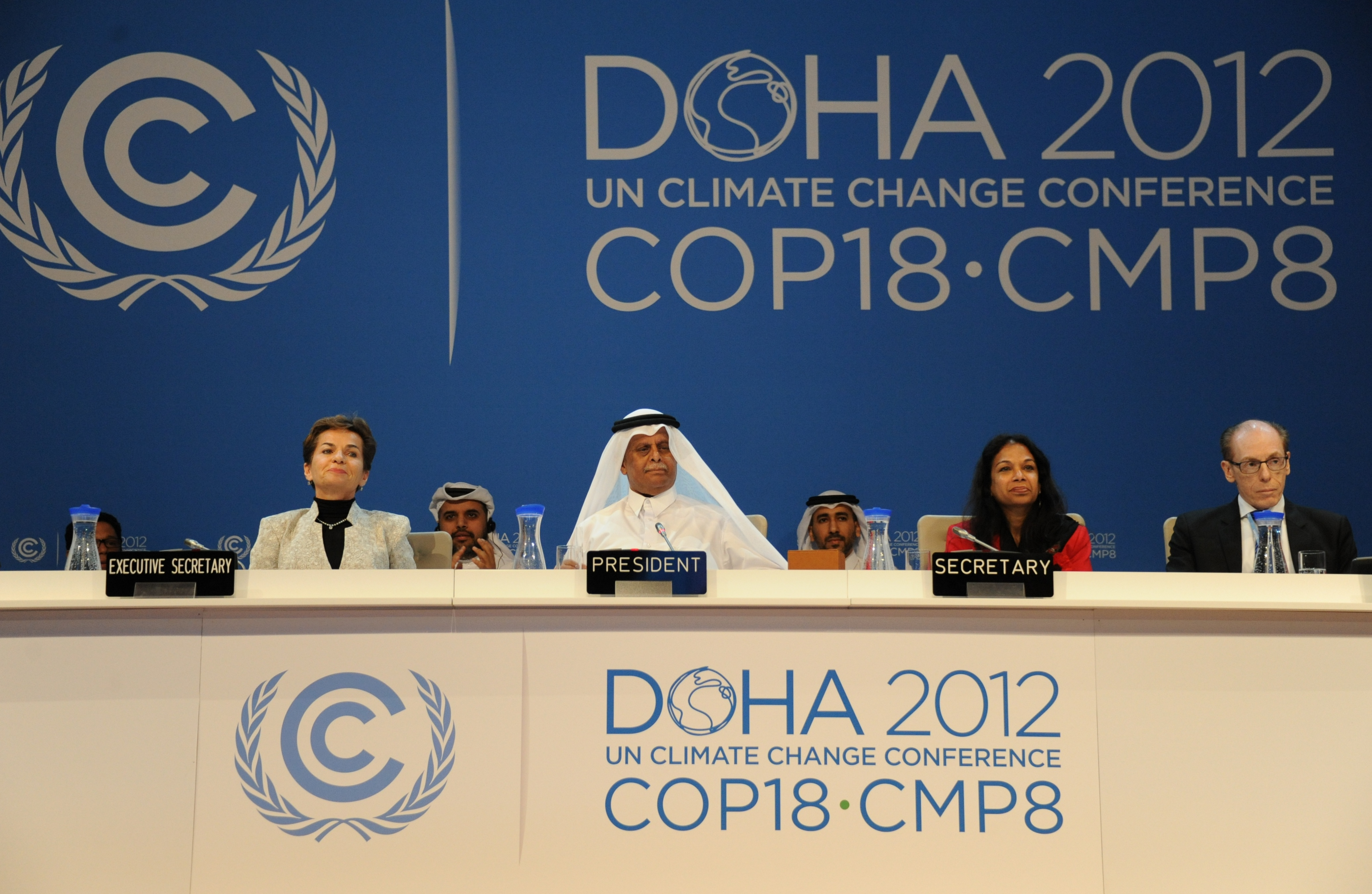 doha climate change negotiations Climate change conference in doha 2012: short-term solution and long-term outlook after much contention, the un climate negotiations in 2012 in doha (qatar.