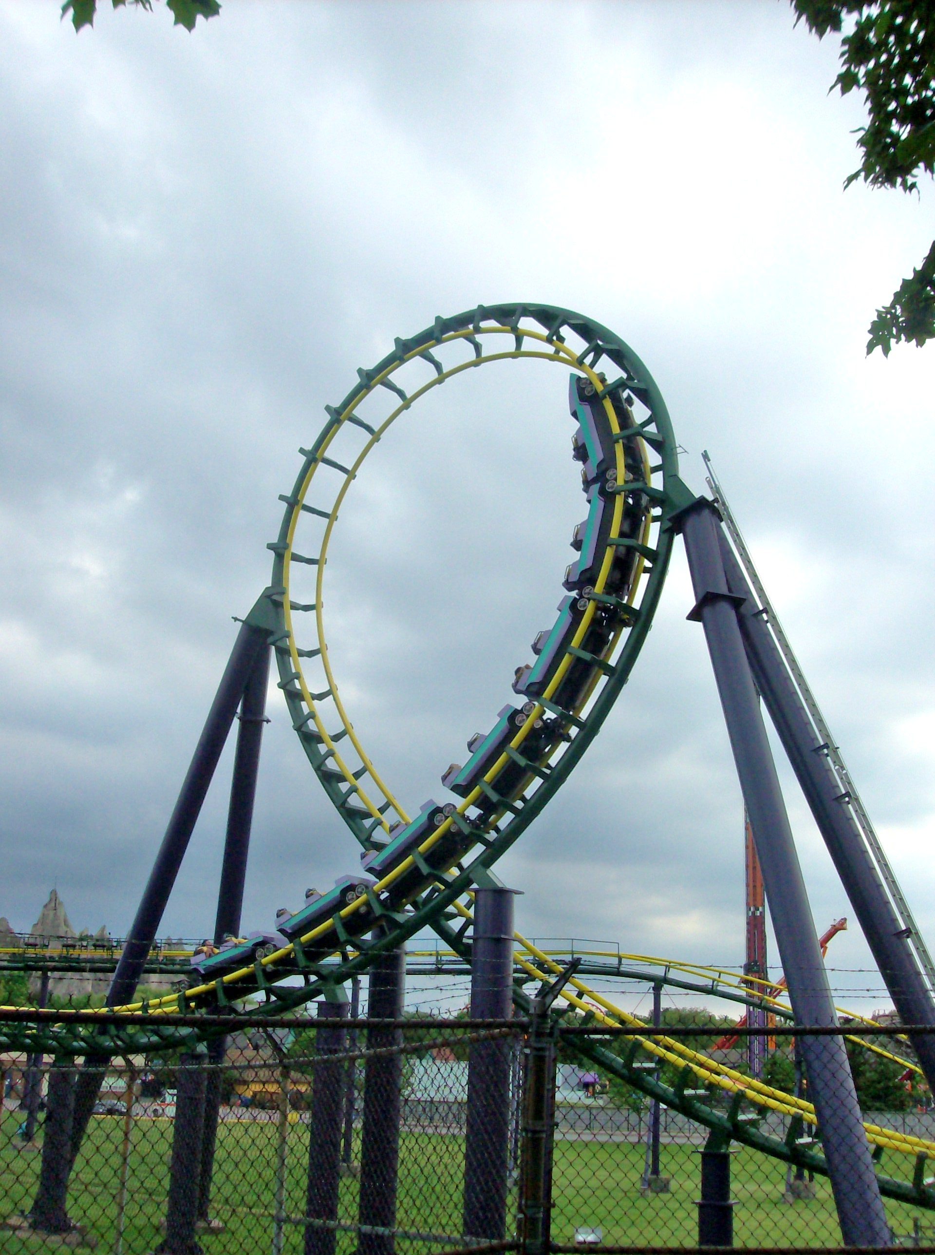 Dragon Fire (roller coaster) - Wikiwand