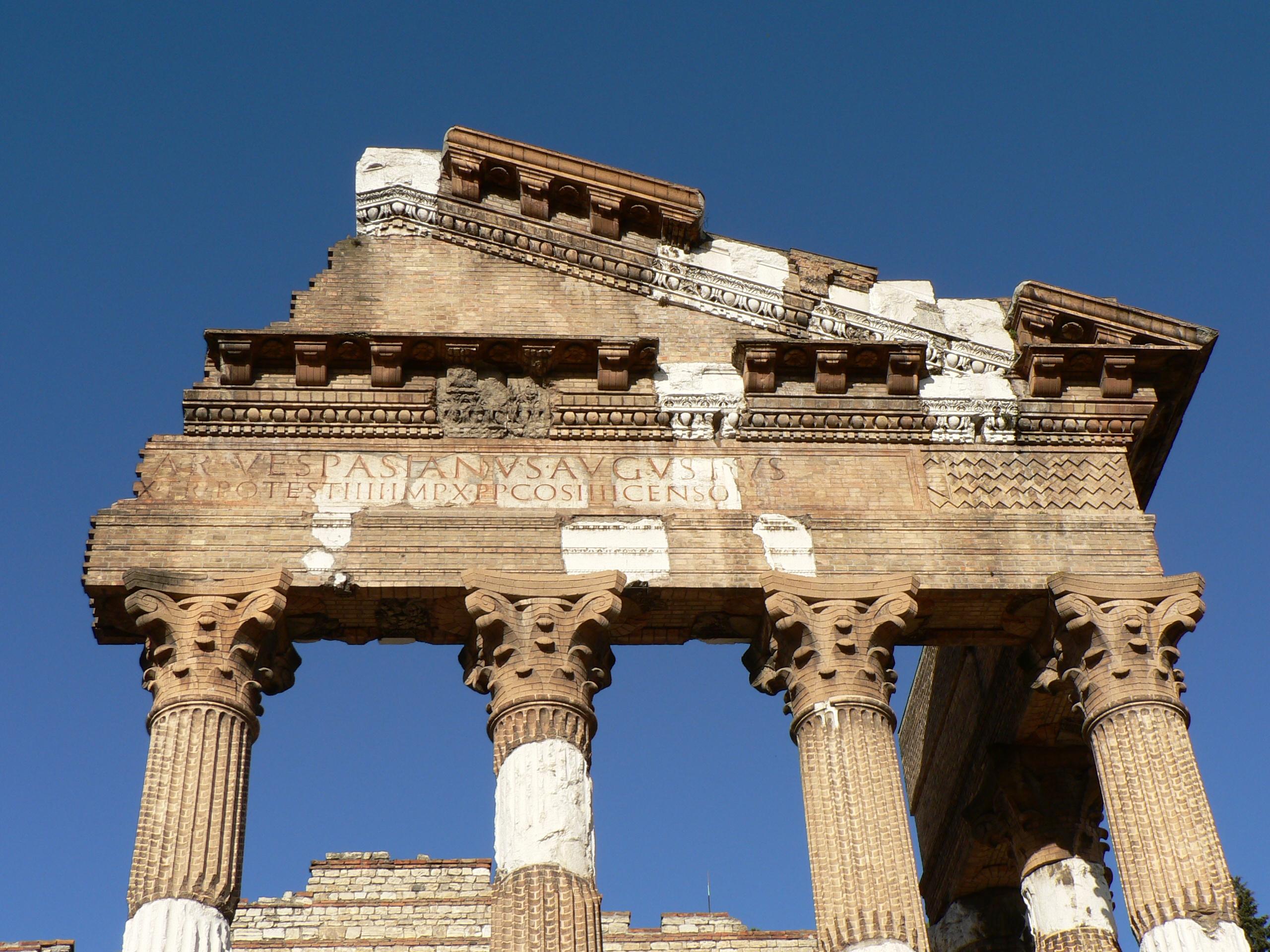 Remains of the Capitolium in Brescia