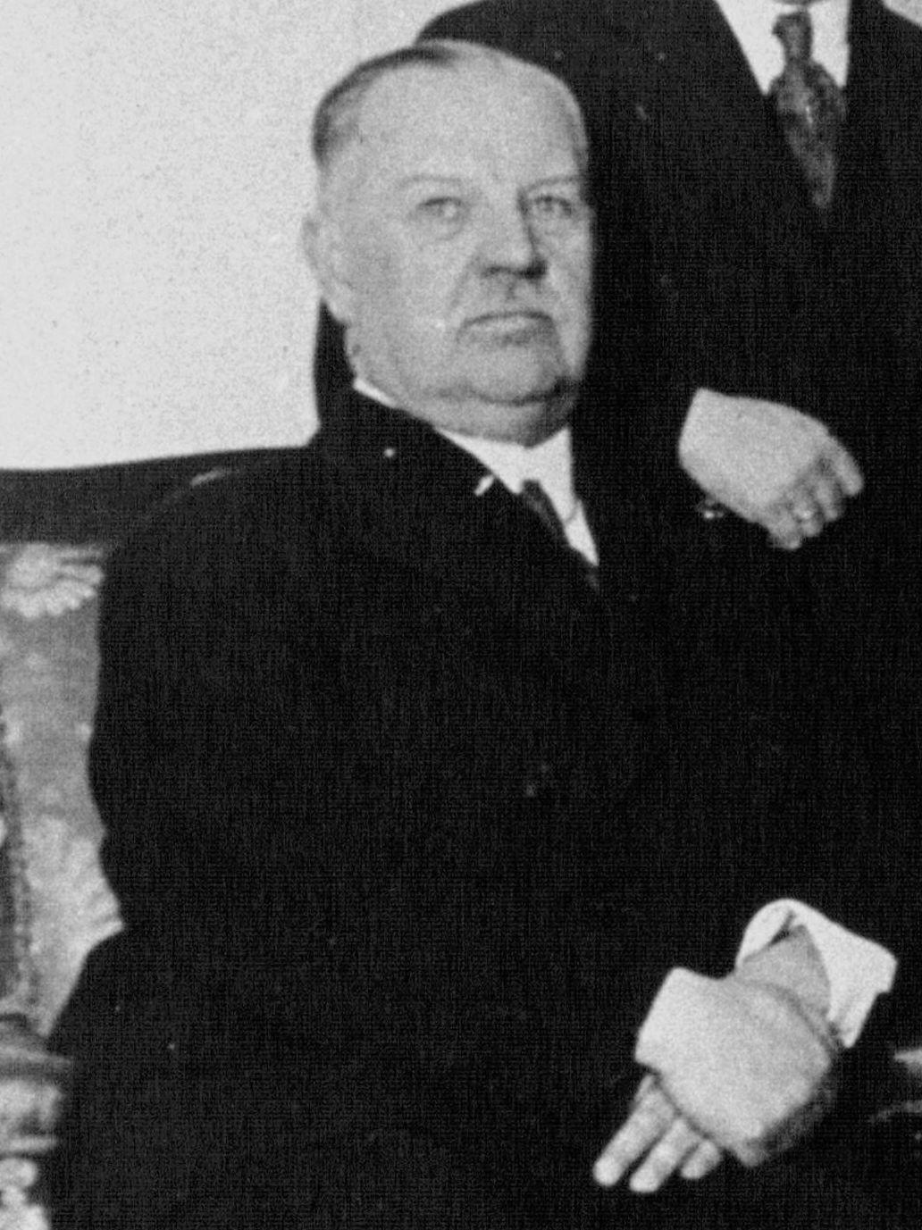 Carl Vaugoin Chancellor of Austria