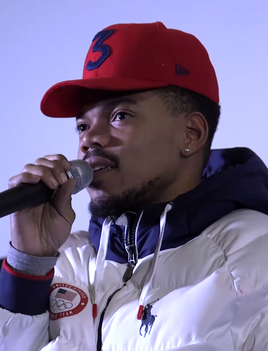 Chance the Rapper in February 2018