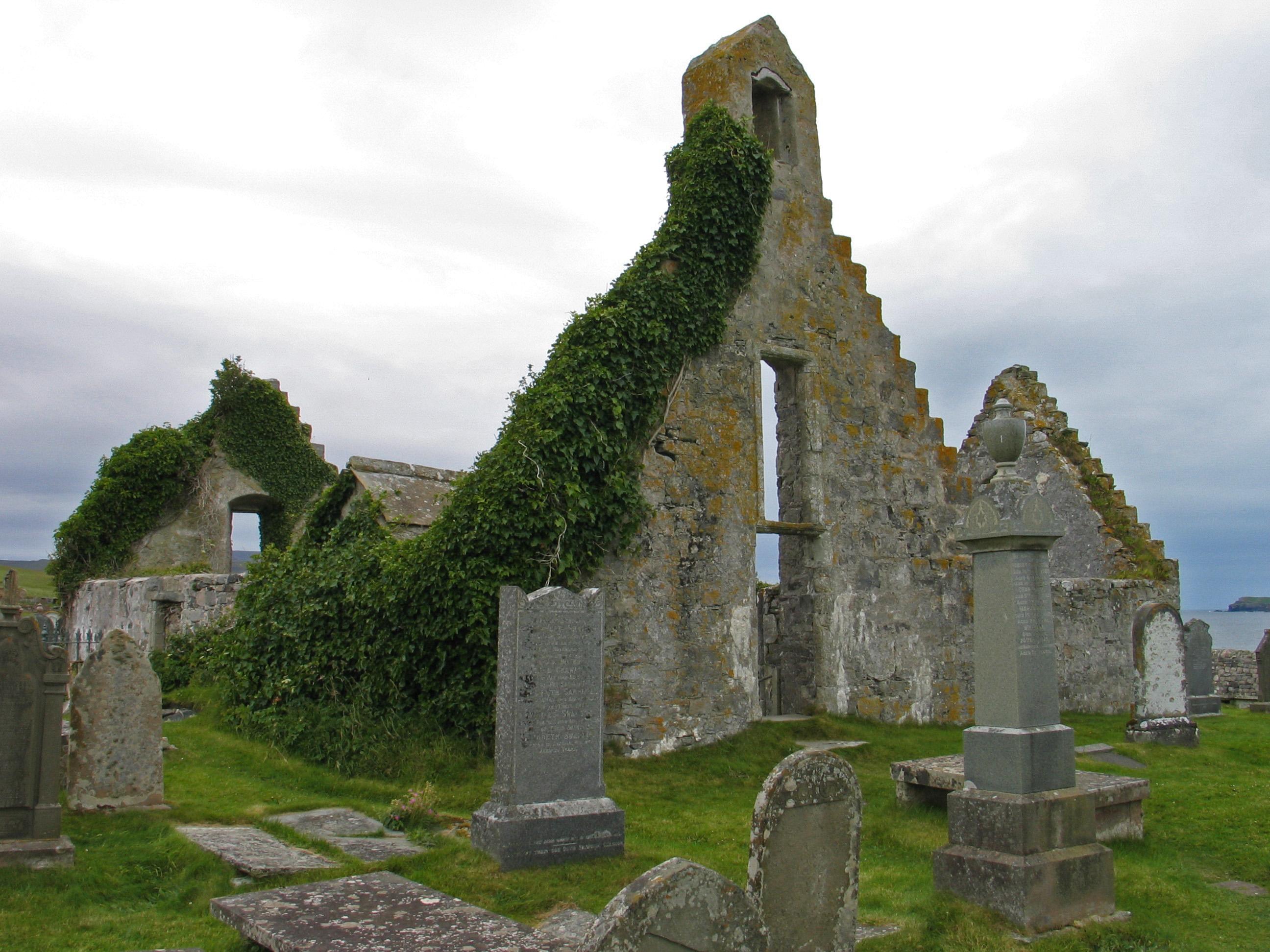 ruina kościoła