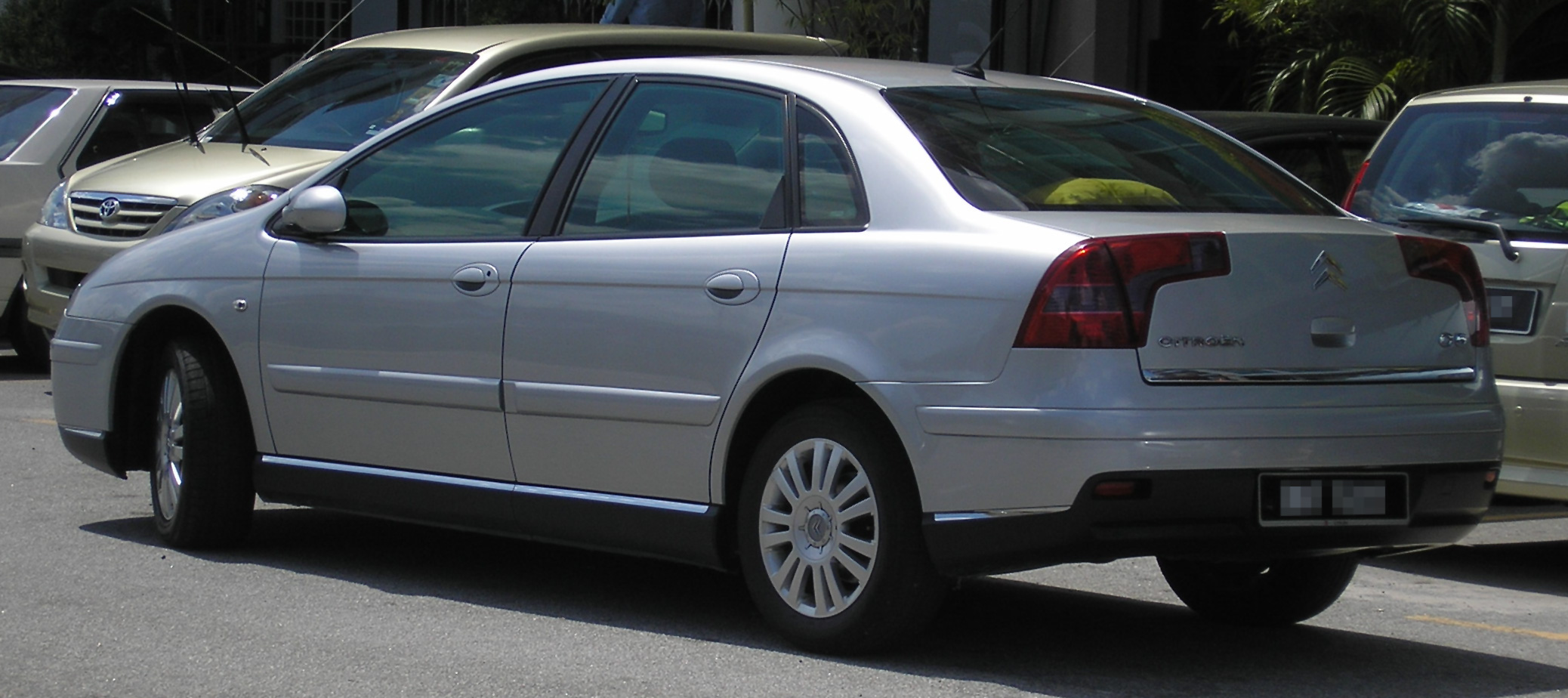 File Citroen C5 First Generation First Facelift Rear