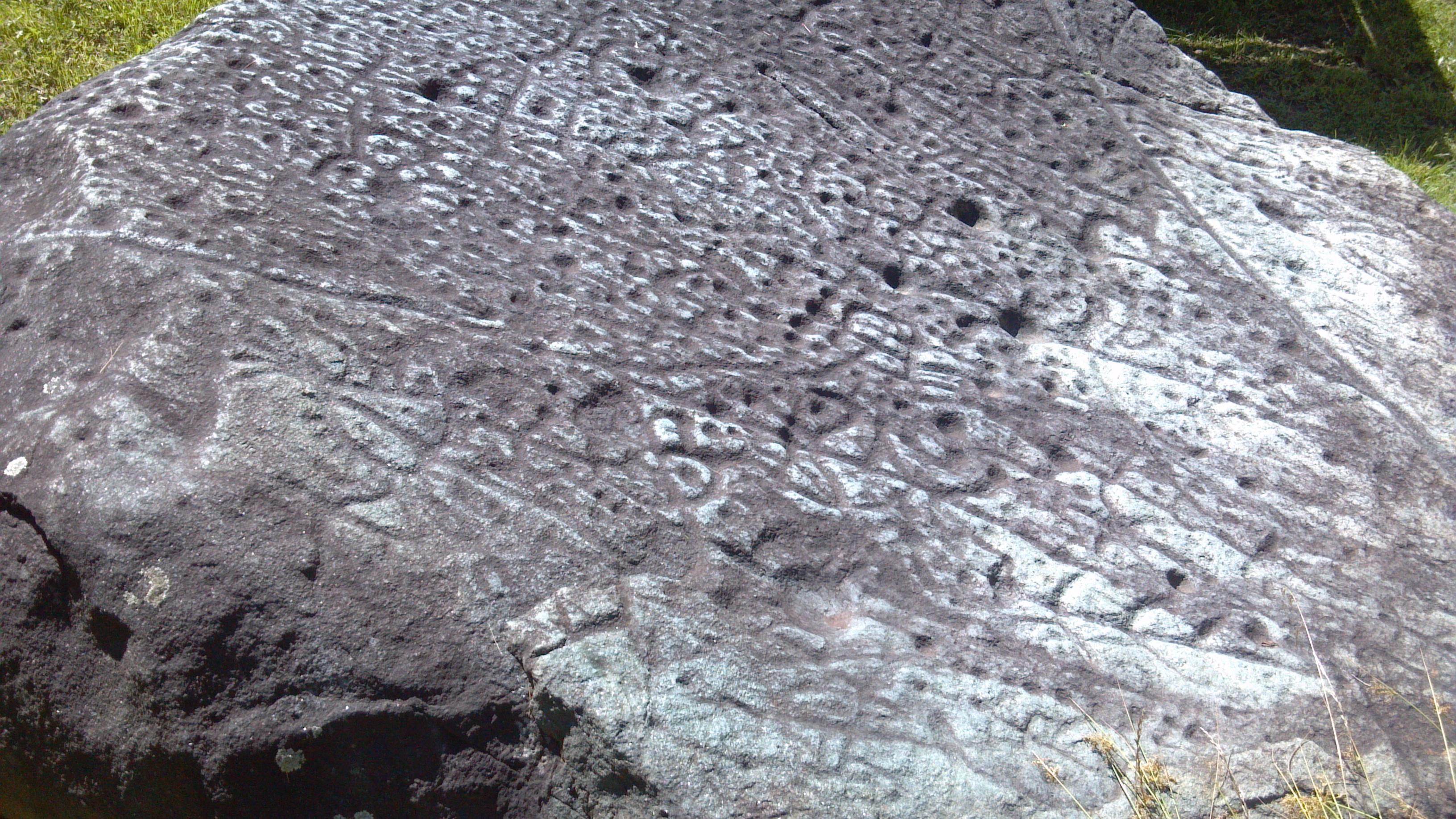 File Close Up Of Judaculla Rock Nc Taken In July 2013