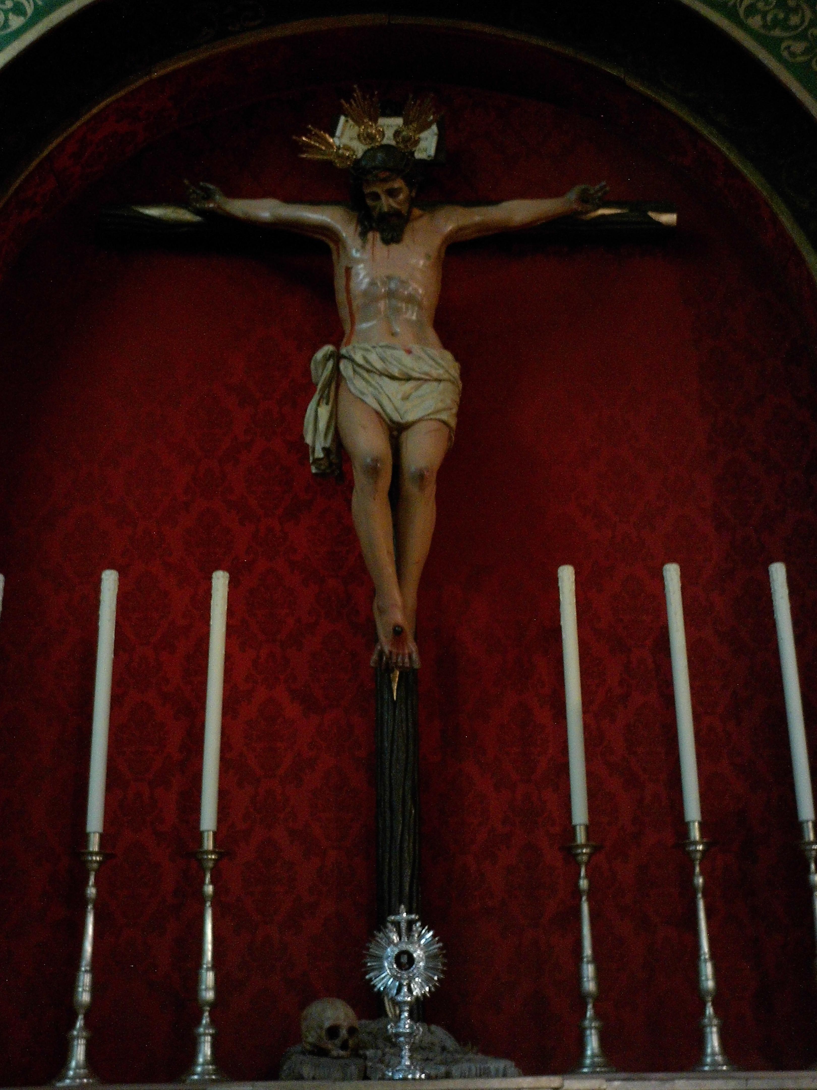 File Cristo De La Vera Cruz Guillena Jpg Wikimedia Commons