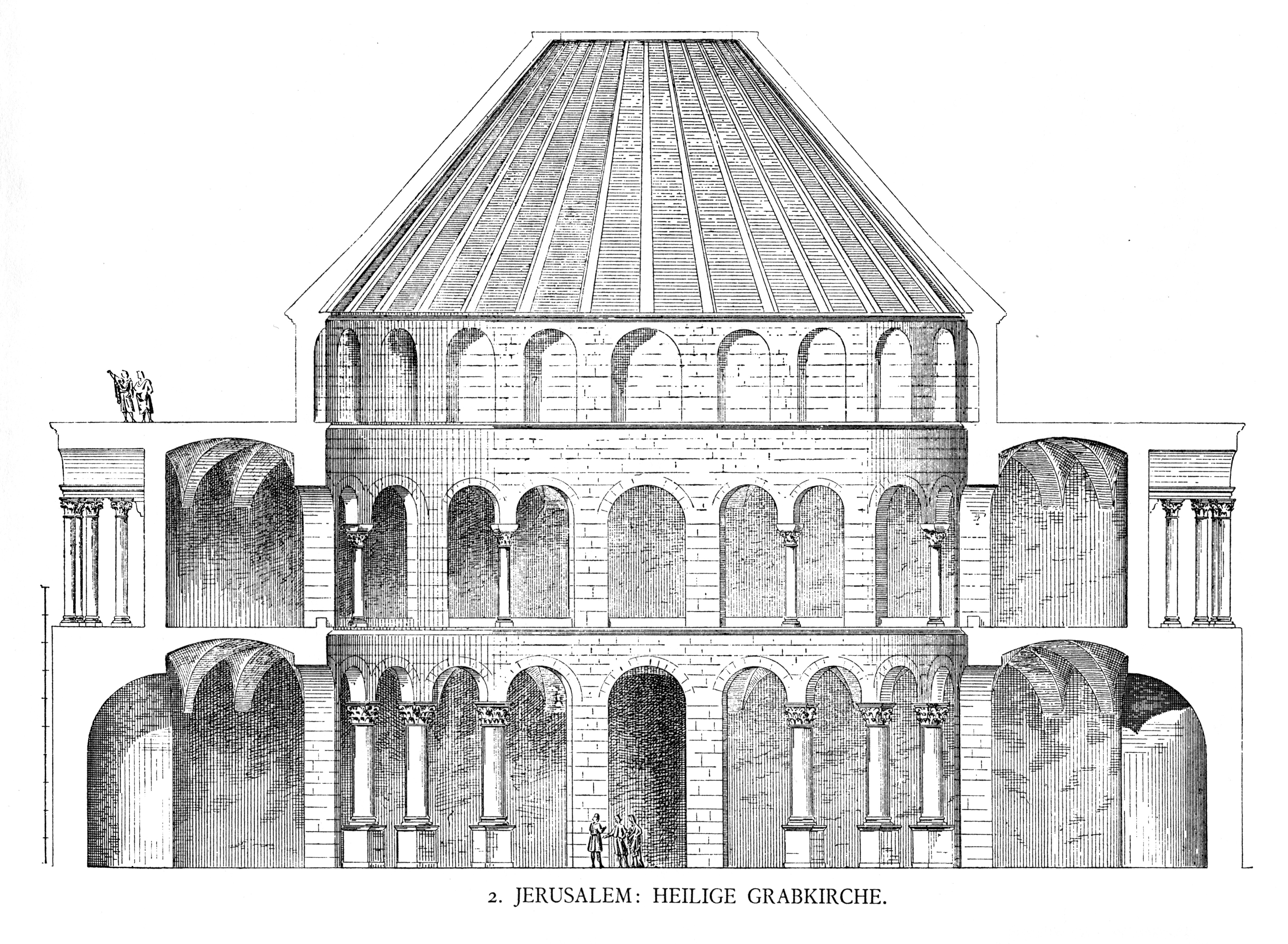 file dehio 9 church of the holy sepulchre section jpg wikimedia