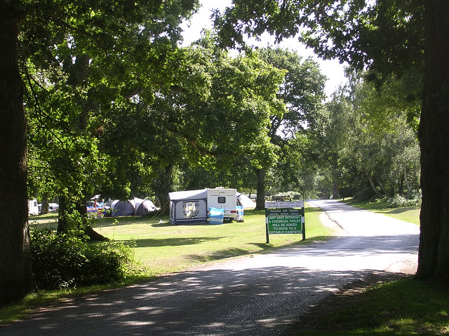Denny Wood Caravan Site, New Forest - geograph.org.uk - 36636