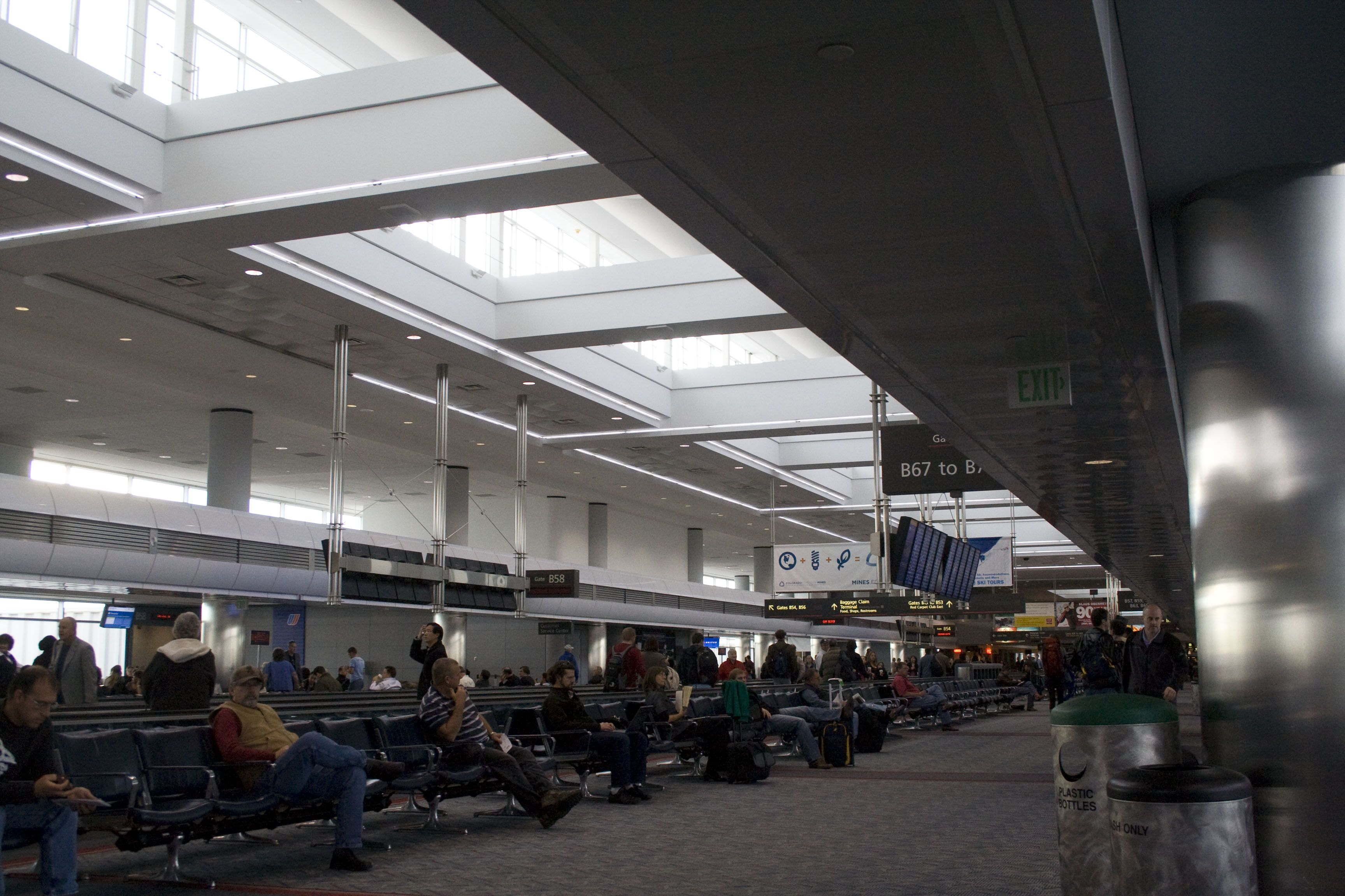 Inside Denver Airport