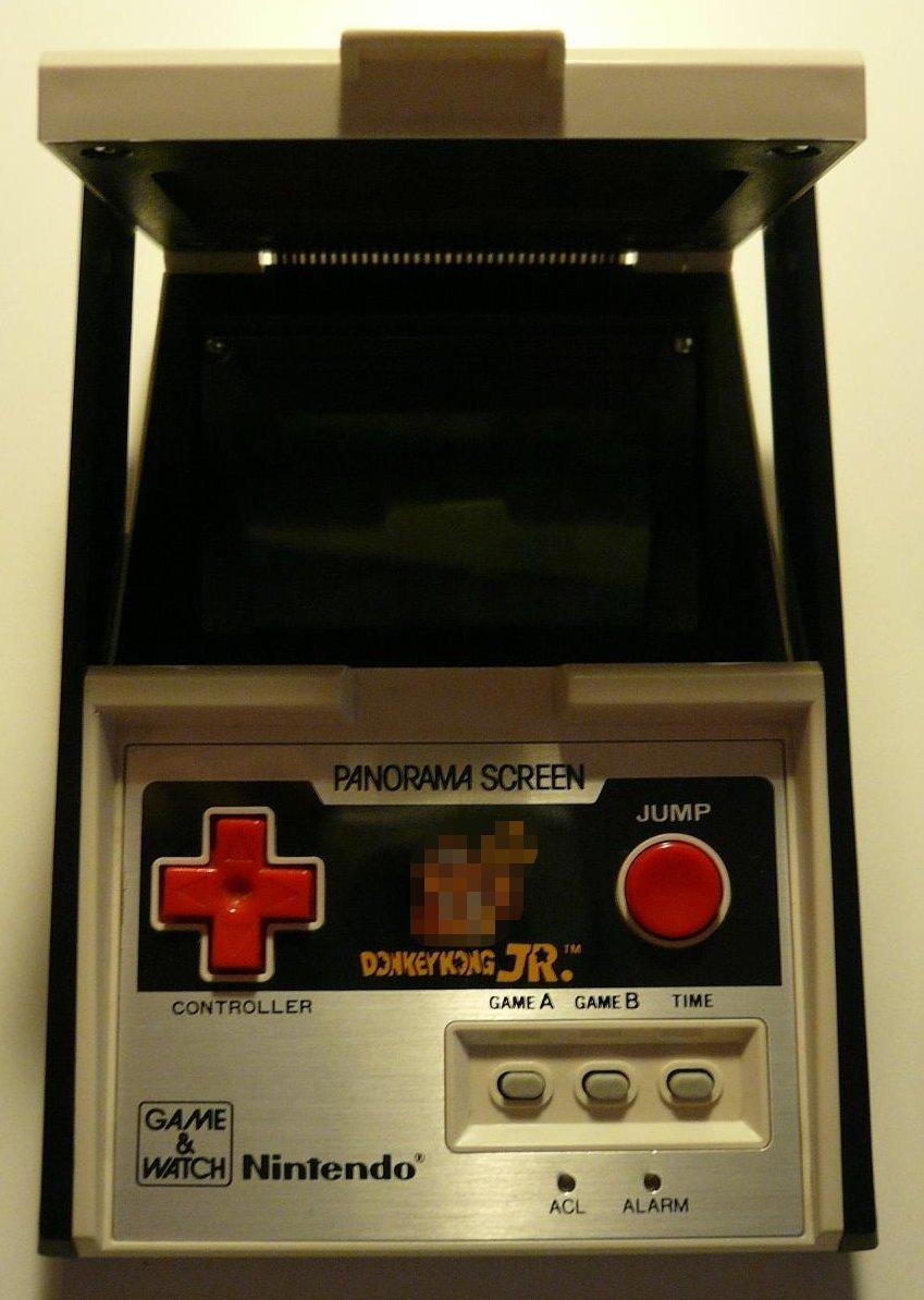 File Donkey Kong Jr Panorama Game Watch Nintendo Jpg