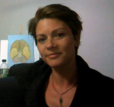 File:Dr. Jodi Sita with painting of brain.jpg
