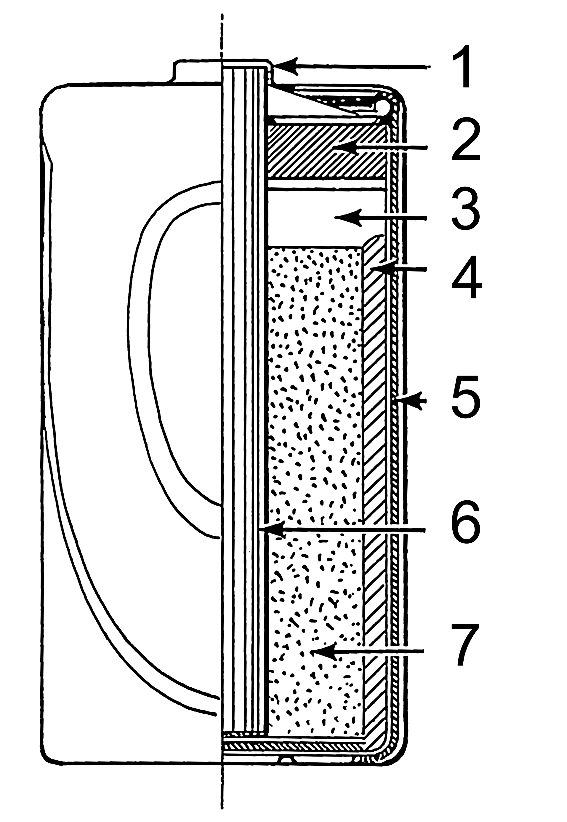 dry cell wikipediaDiagram Of A Dry Cell #19