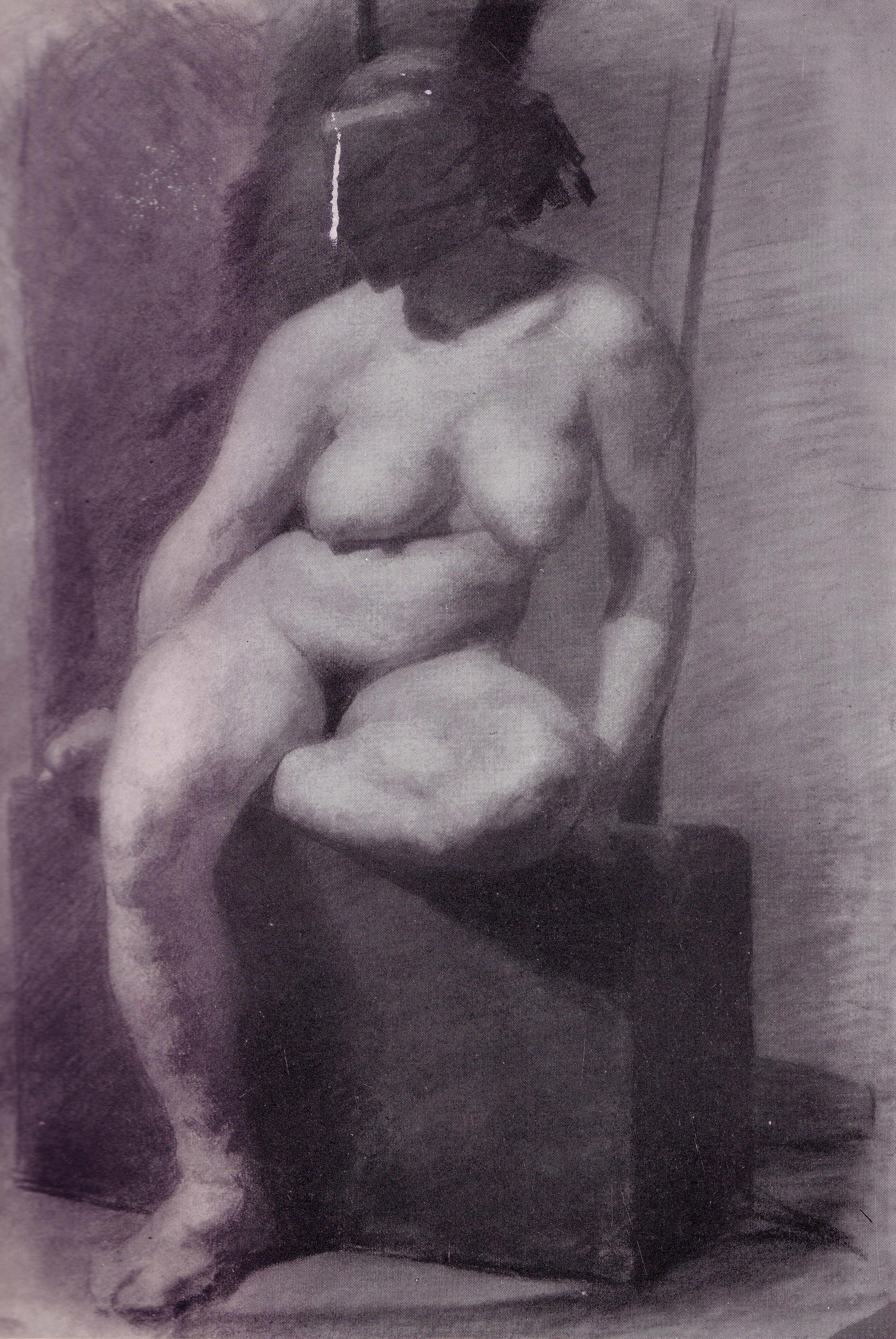 Eakins   Nude woman, seated, wearing a mask Country Singer Chely Wright Weds Lauren Blitzer    See The First Photo