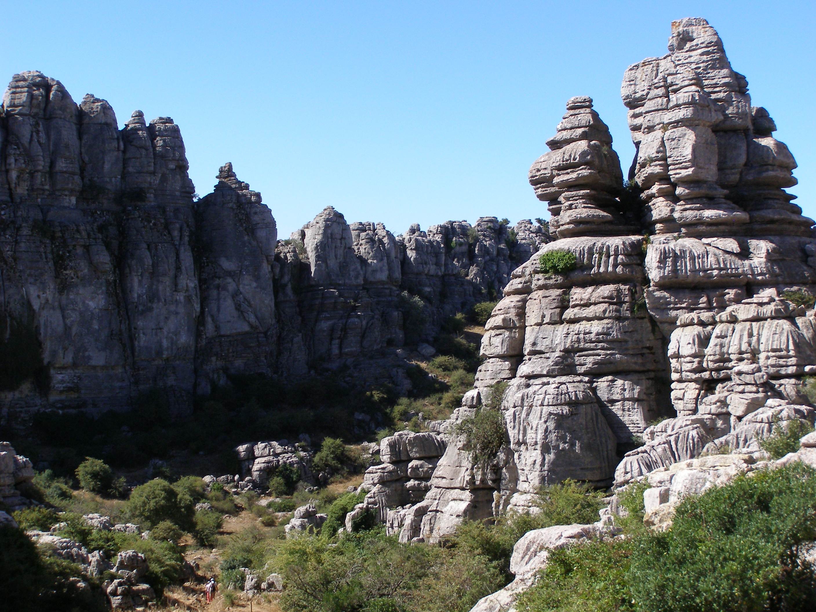 The Torcal de Antequera Natural Park