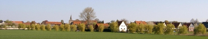 Panoramic view of Emmerke from the south