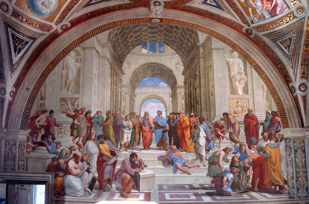 Art- post your favorite here  - Page 3 Escola_de_atenas_-_vaticano