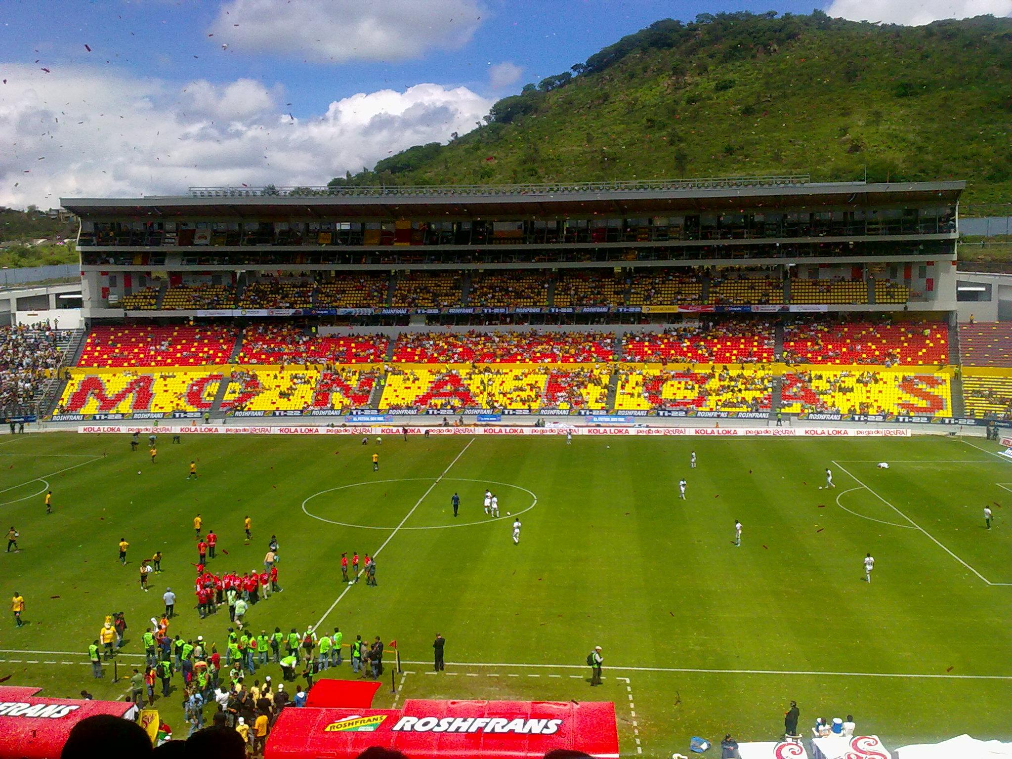 Image result for monarcas stadium