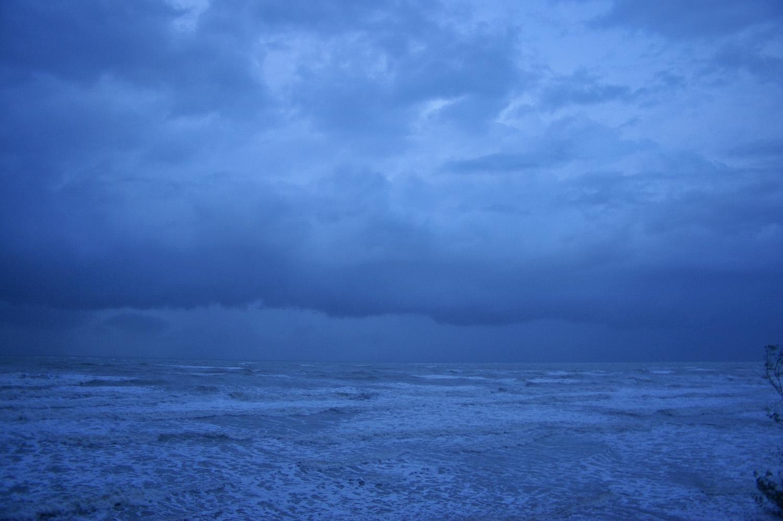 Monsoonal squall nears Darwin, Northern Territory, Australia.