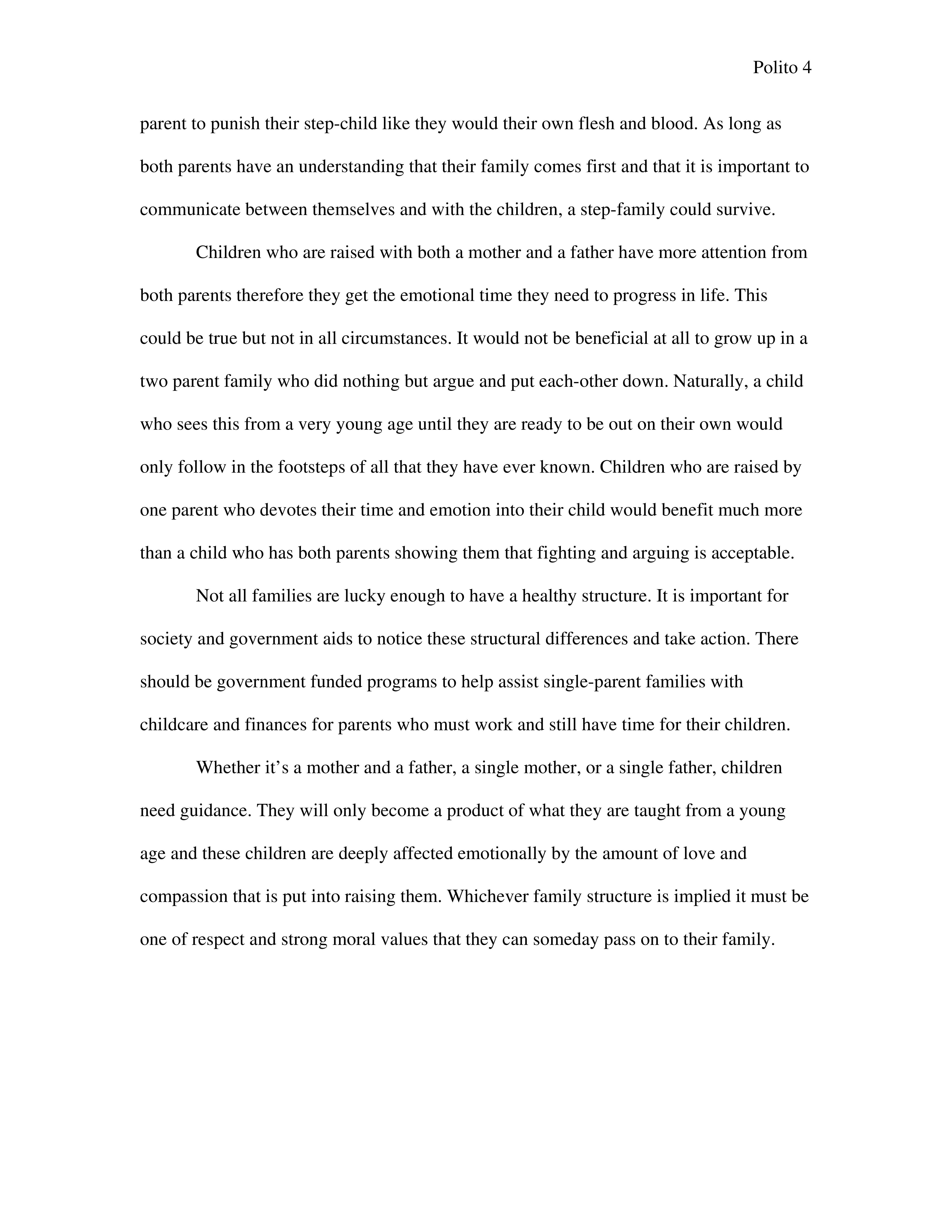 communication in the family essay Communication problems in the family business - business communication -  stephanie olbrich - essay - business economics - marketing, corporate.