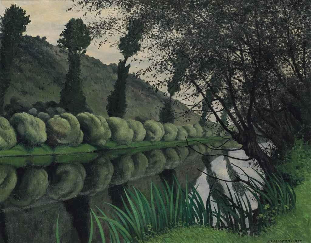 Fichier:Félix Vallotton, 1922 - La Seine bordée de saules, Tournedos ...