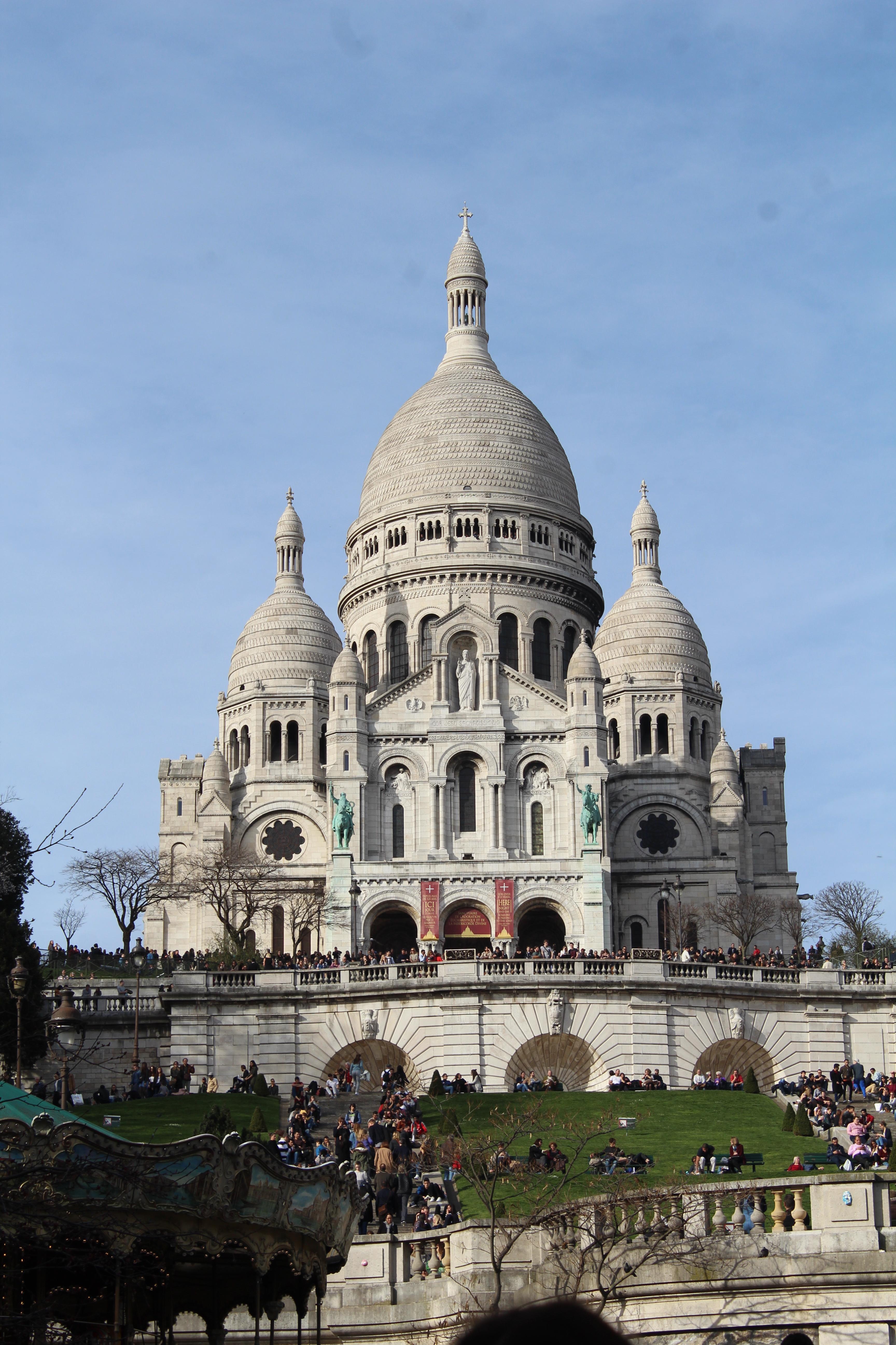 File Facade Sud Basilique Sacre Cœur Montmartre Paris 1 Jpg